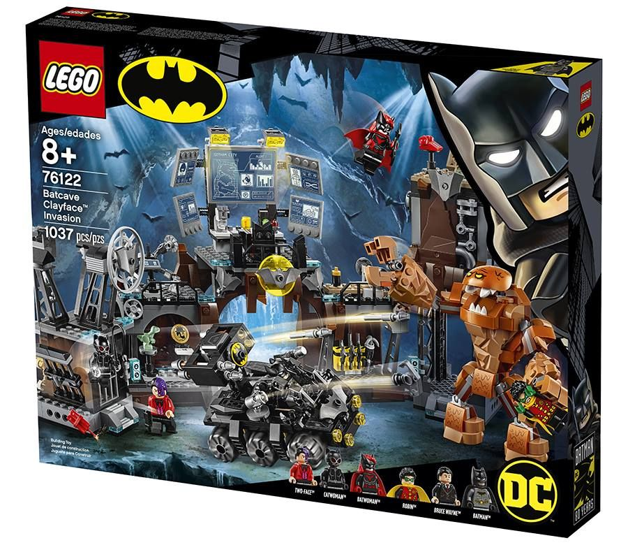 LEGO Super Heroes 76122 Clayface™ Invasion in die Bathöhle LEGO_76122_Boximg.jpg