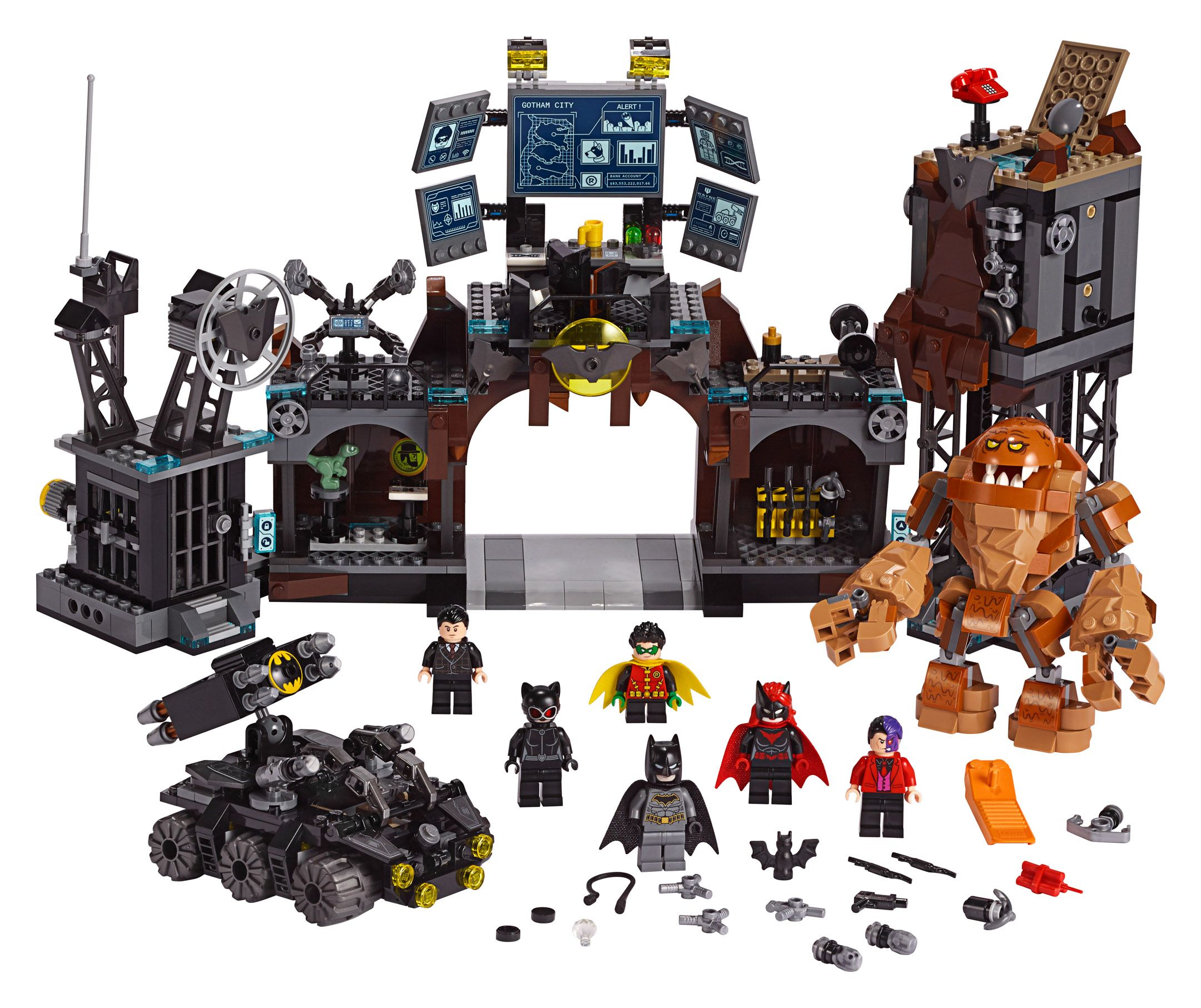 LEGO Super Heroes 76122 Batcave: Clayface Invasion
