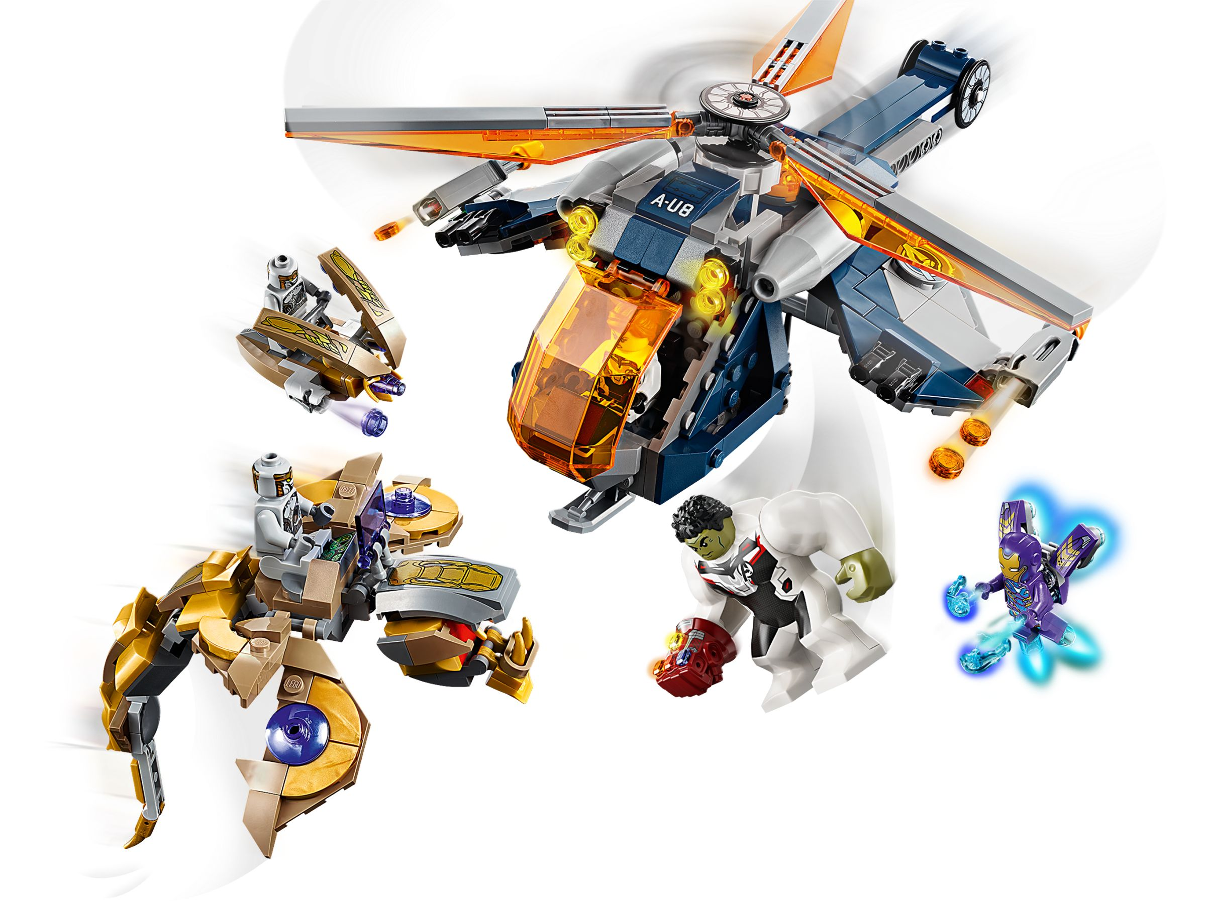 LEGO® Super Heroes 76144 Avengers Hulk Helikopter Rettung