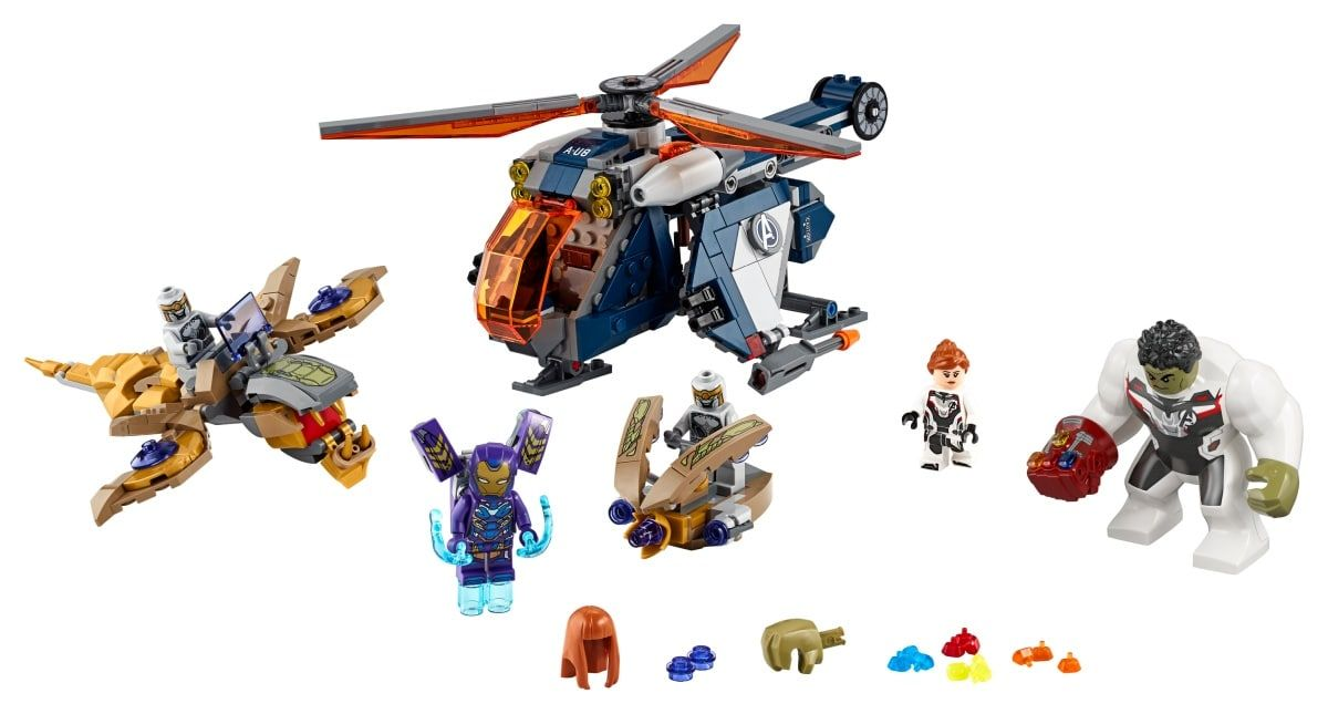LEGO Super Heroes 76144 Hulk Helicopter Drop