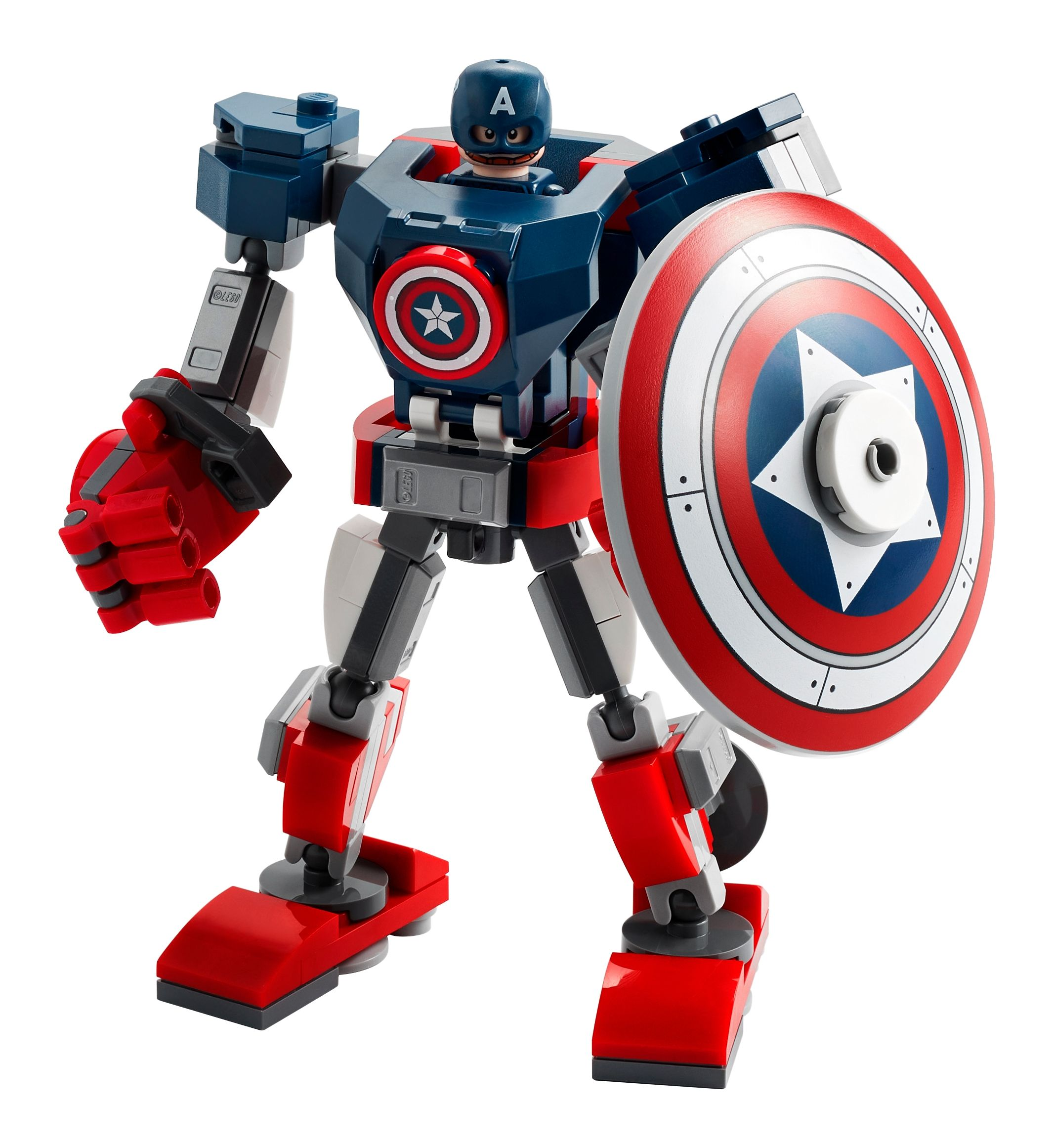 LEGO Super Heroes 76168 Captain America Mech