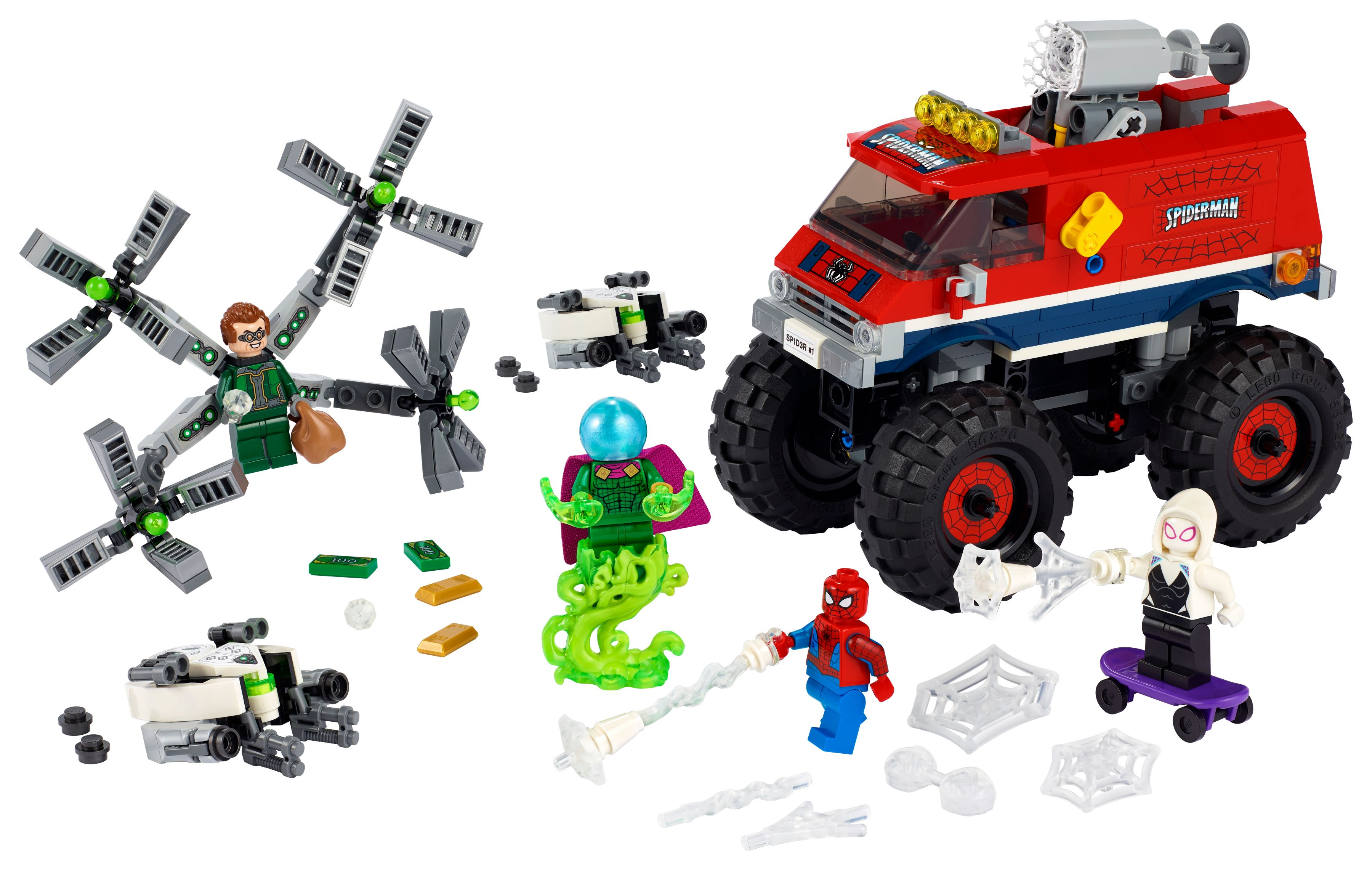 LEGO Super Heroes 76174 Spider-Mans Monstertruck vs. Mysterio