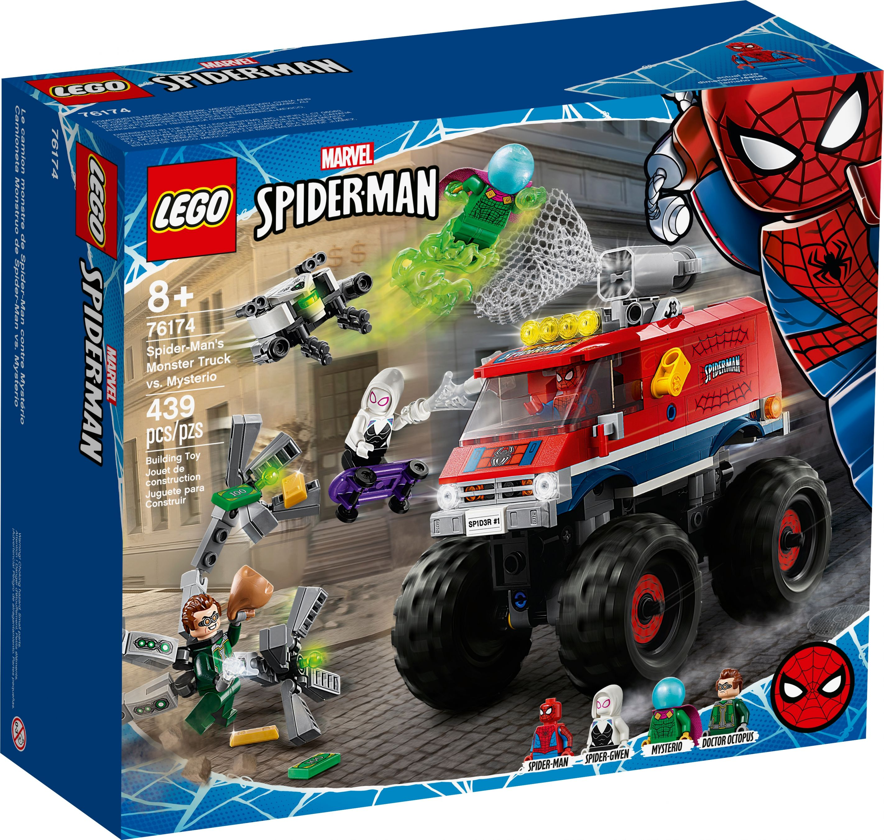 LEGO Super Heroes 76174 Spider-Mans Monstertruck vs. Mysterio LEGO_76174_alt1.jpg