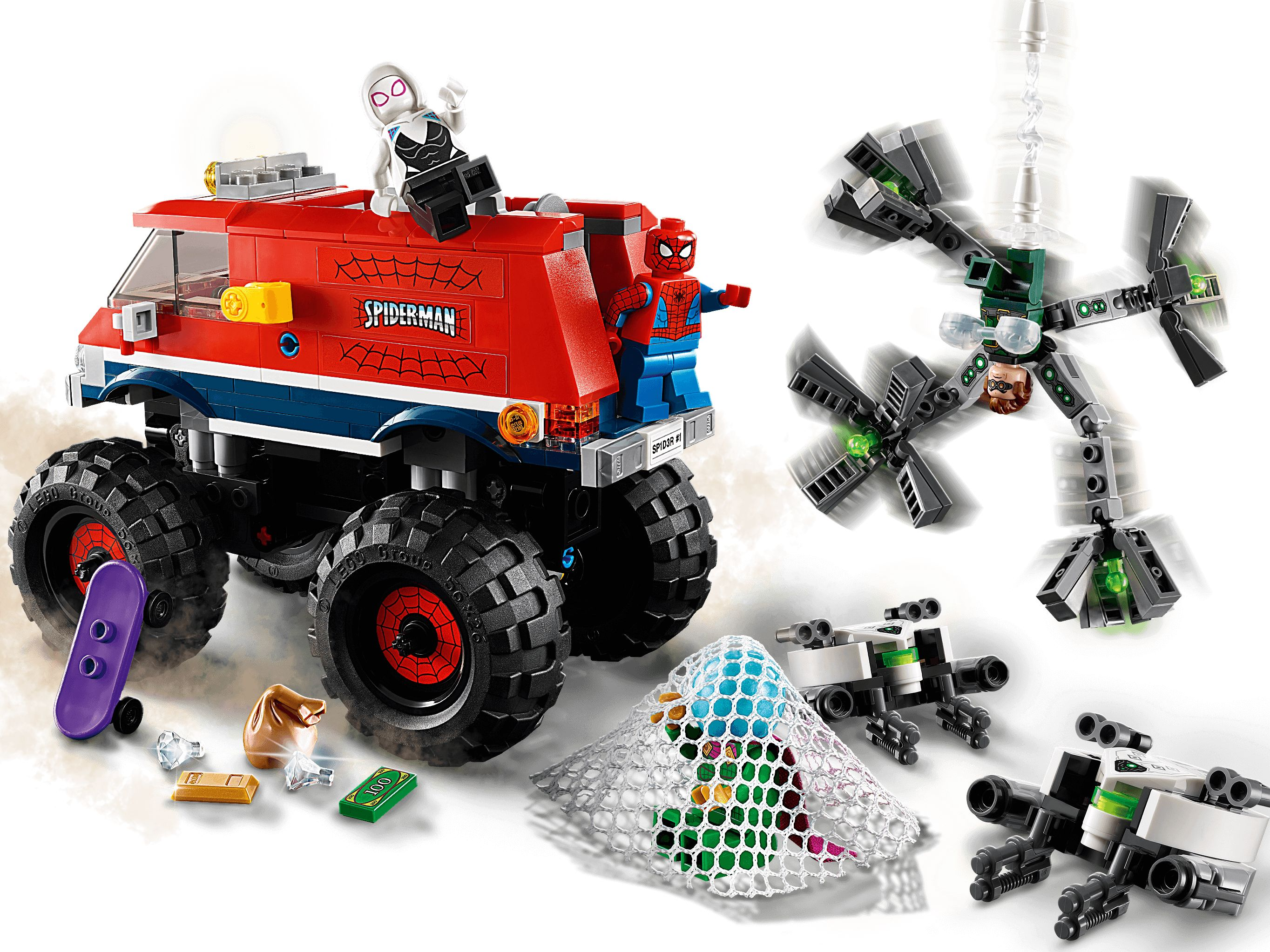 LEGO Super Heroes 76174 Spider-Mans Monstertruck vs. Mysterio LEGO_76174_alt4.jpg