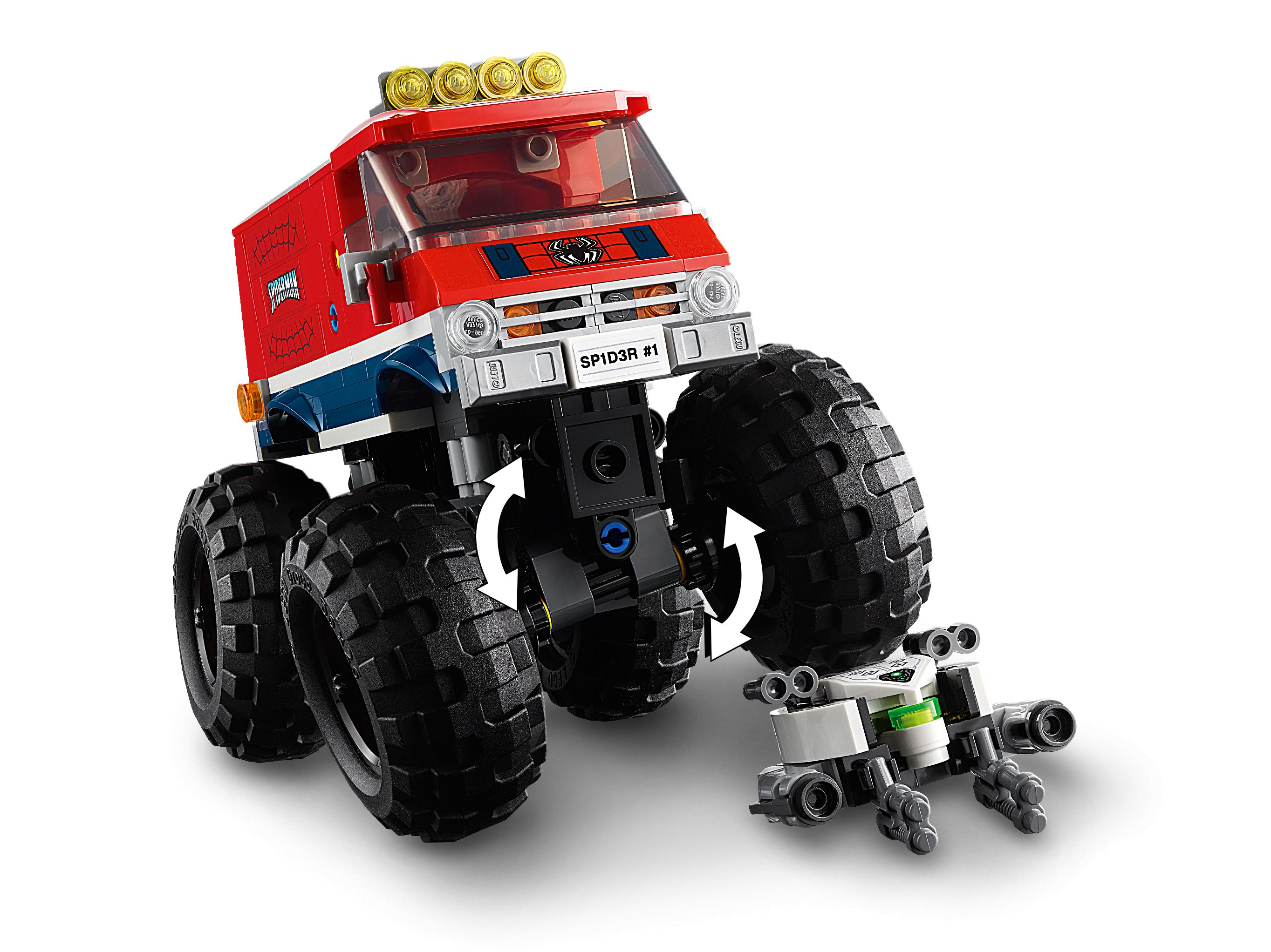 LEGO Super Heroes 76174 Spider-Mans Monstertruck vs. Mysterio LEGO_76174_alt6.jpg