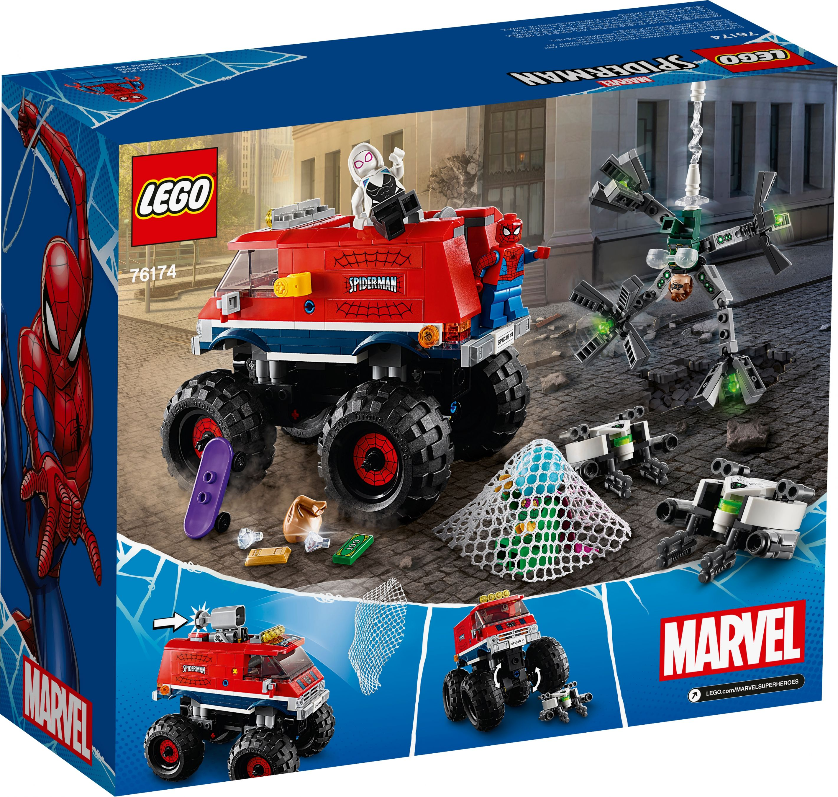LEGO Super Heroes 76174 Spider-Mans Monstertruck vs. Mysterio LEGO_76174_alt7.jpg