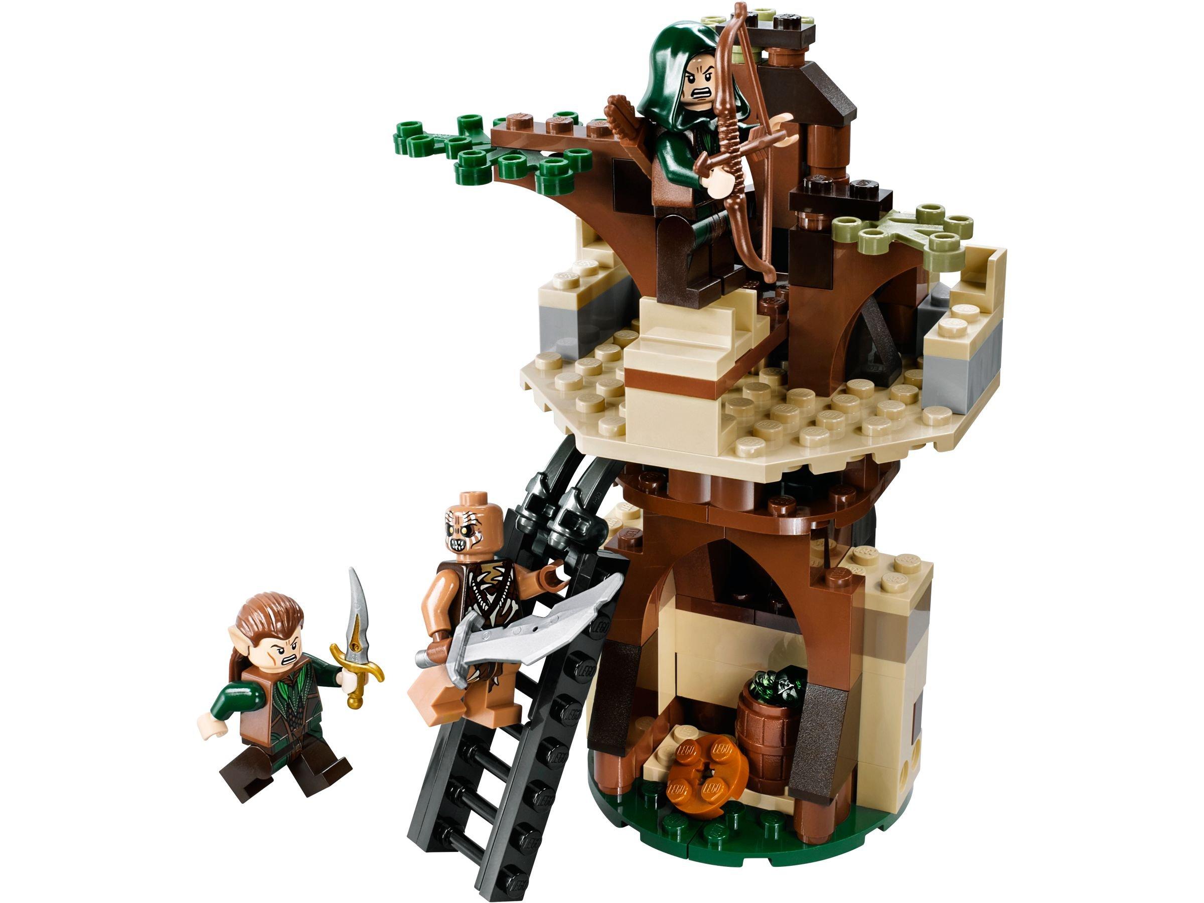 mirkwood elbenarmee 79012 lego the hobbit 2013 im preisvergleich mirkwood elf army. Black Bedroom Furniture Sets. Home Design Ideas