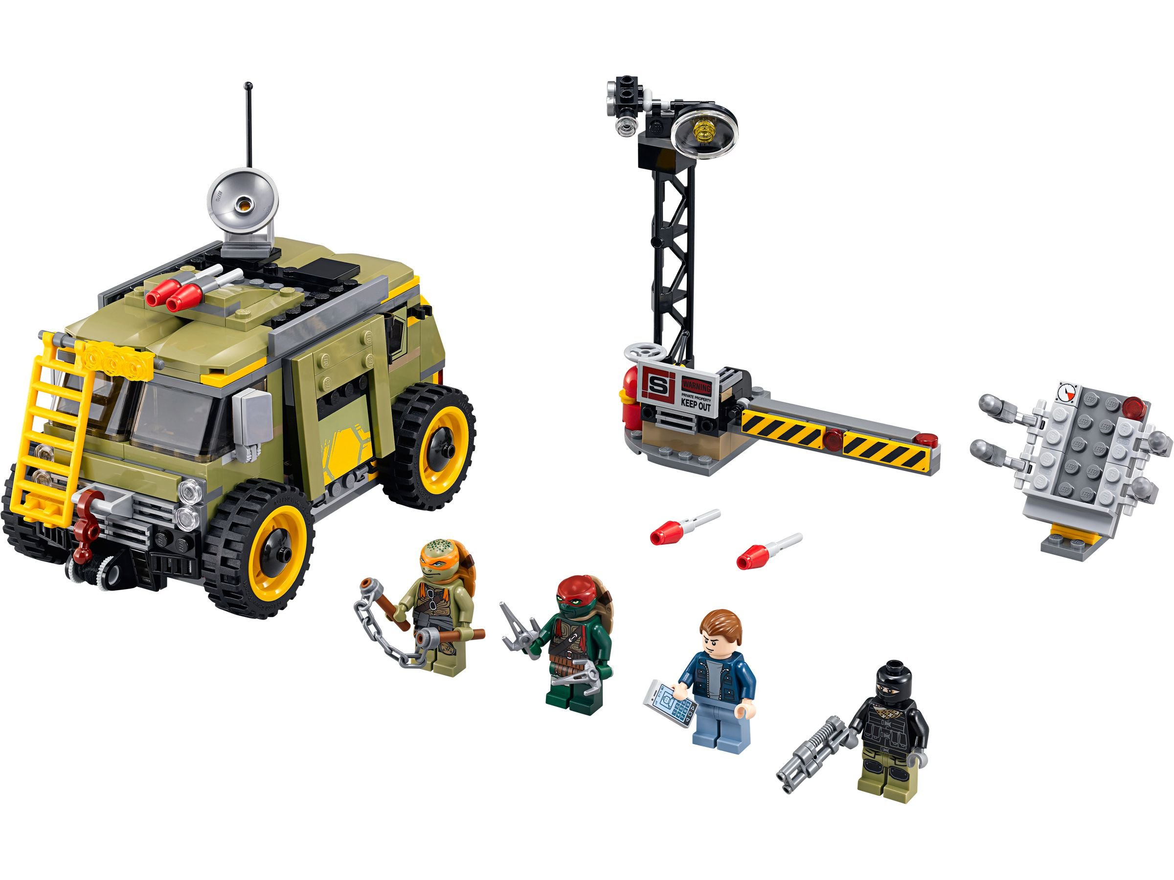 LEGO Teenage Mutant Ninja Turtles 79115 Turtle Van LEGO_79115.jpg