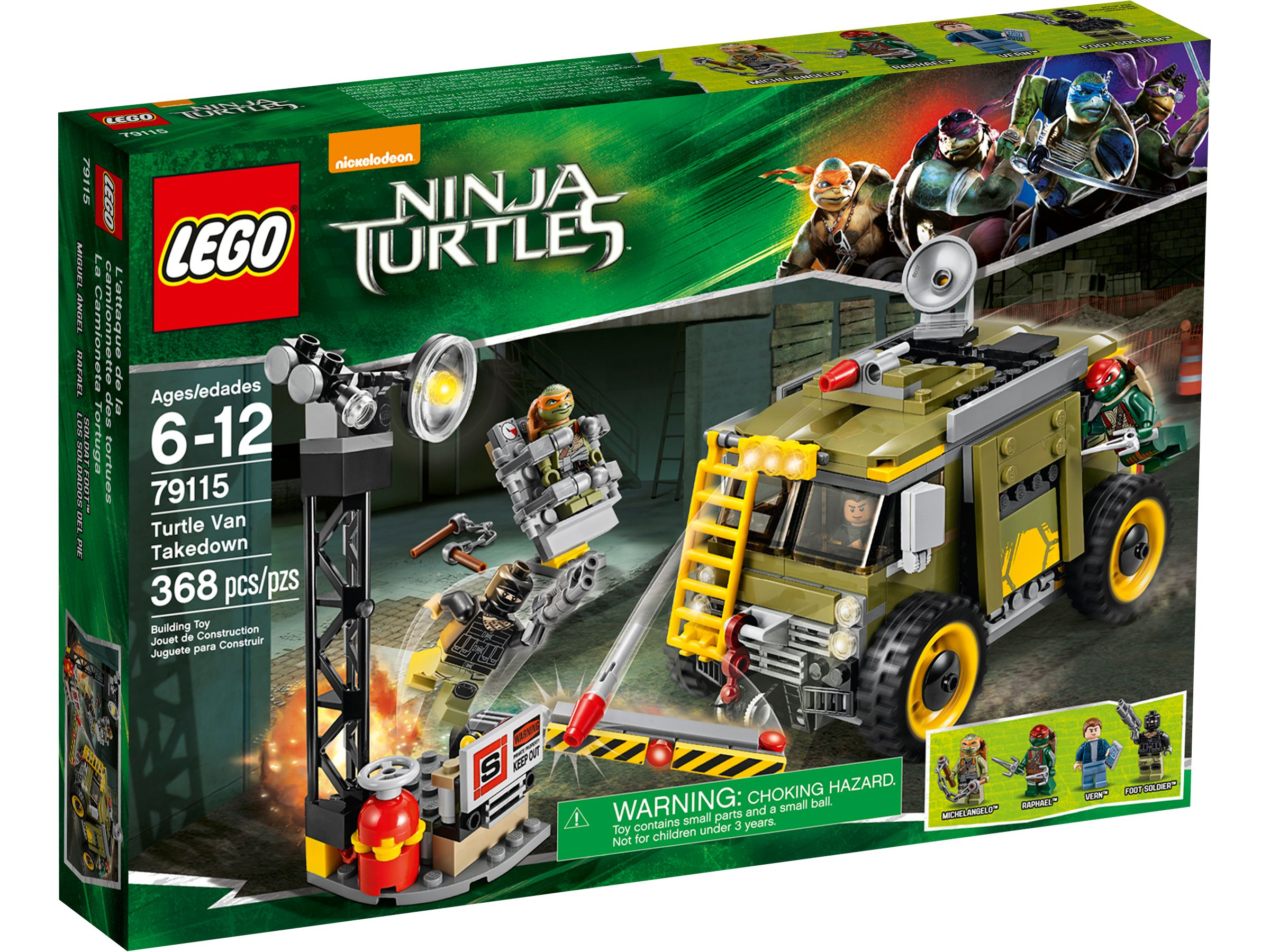 LEGO Teenage Mutant Ninja Turtles 79115 Turtle Van LEGO_79115_alt1.jpg