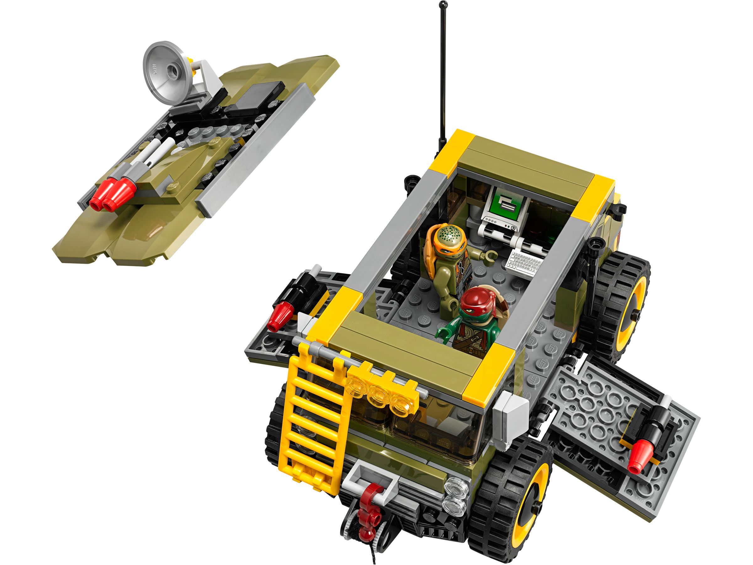 LEGO Teenage Mutant Ninja Turtles 79115 Turtle Van LEGO_79115_alt3.jpg