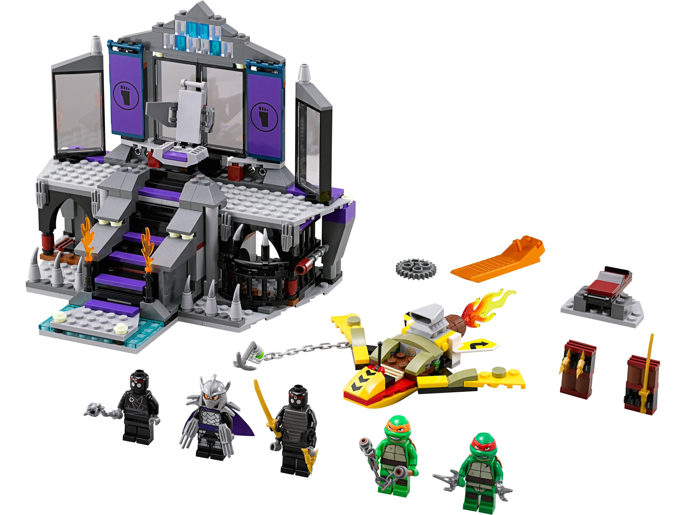 LEGO Teenage Mutant Ninja Turtles 79122 Rettung aus Shredders Versteck LEGO_79122.jpg