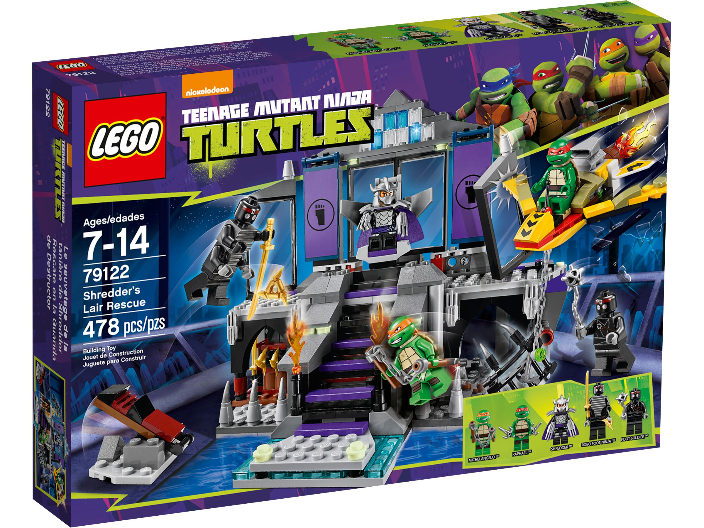 LEGO Teenage Mutant Ninja Turtles 79122 Rettung aus Shredders Versteck LEGO_79122_alt1.jpg