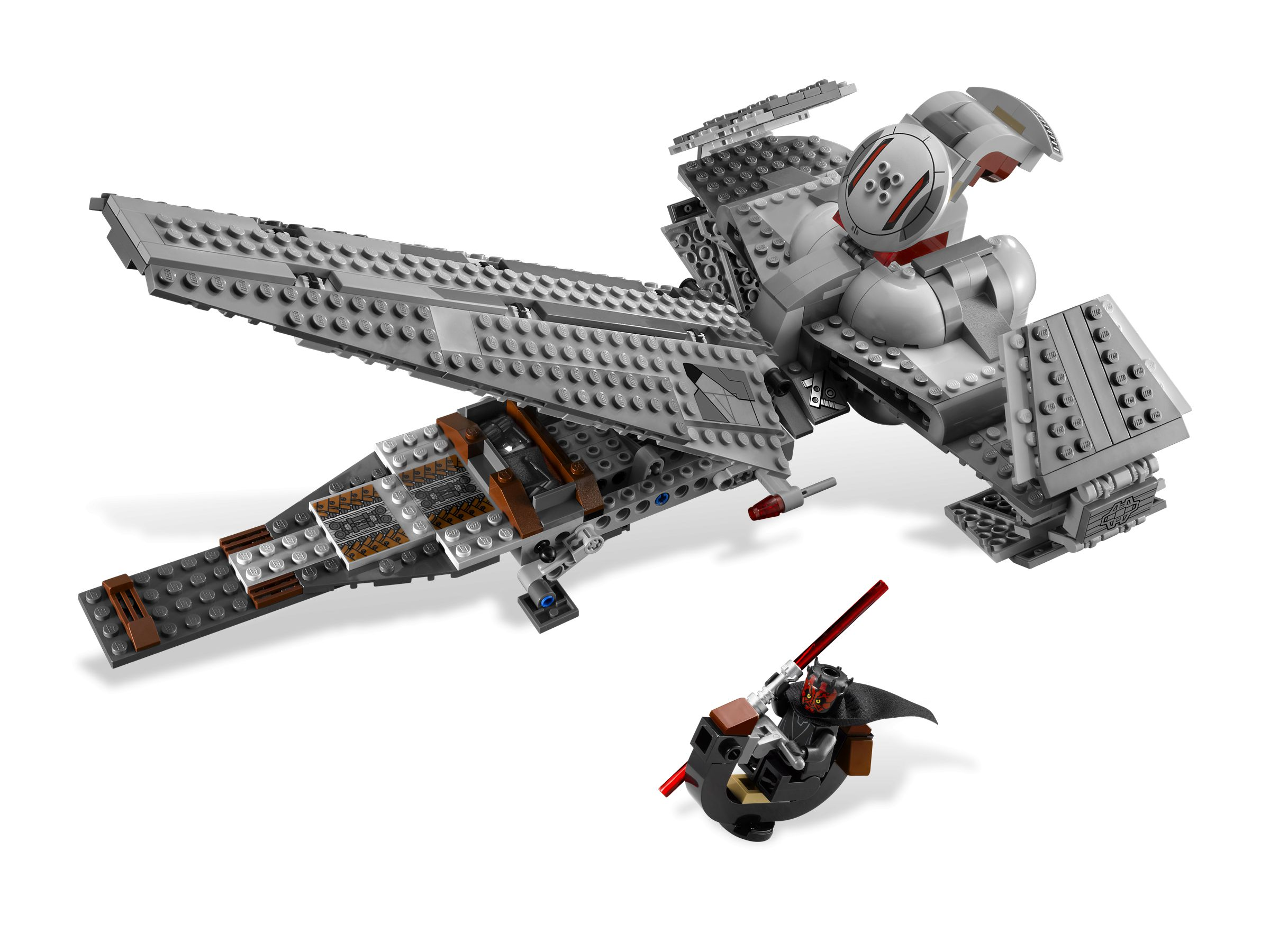 lego 7961 darth maul 39 s sith infiltrator star wars 2011 brickmerge. Black Bedroom Furniture Sets. Home Design Ideas