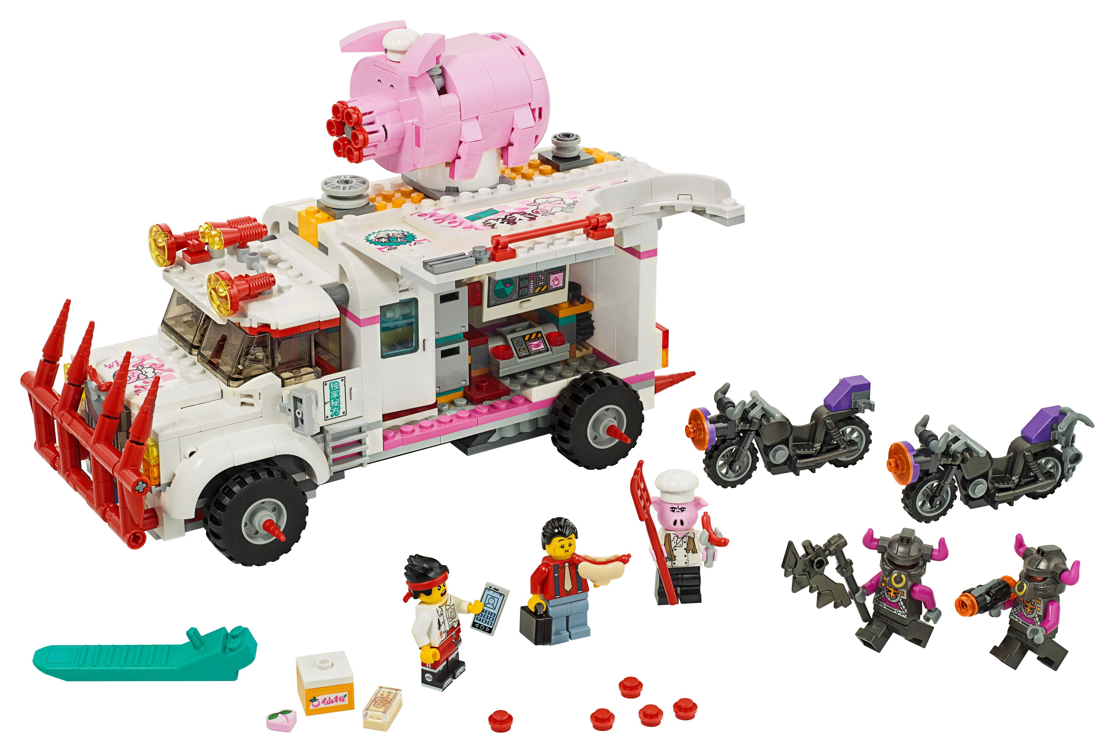 LEGO Monkie Kid 80009 Pigsys Foodtruck