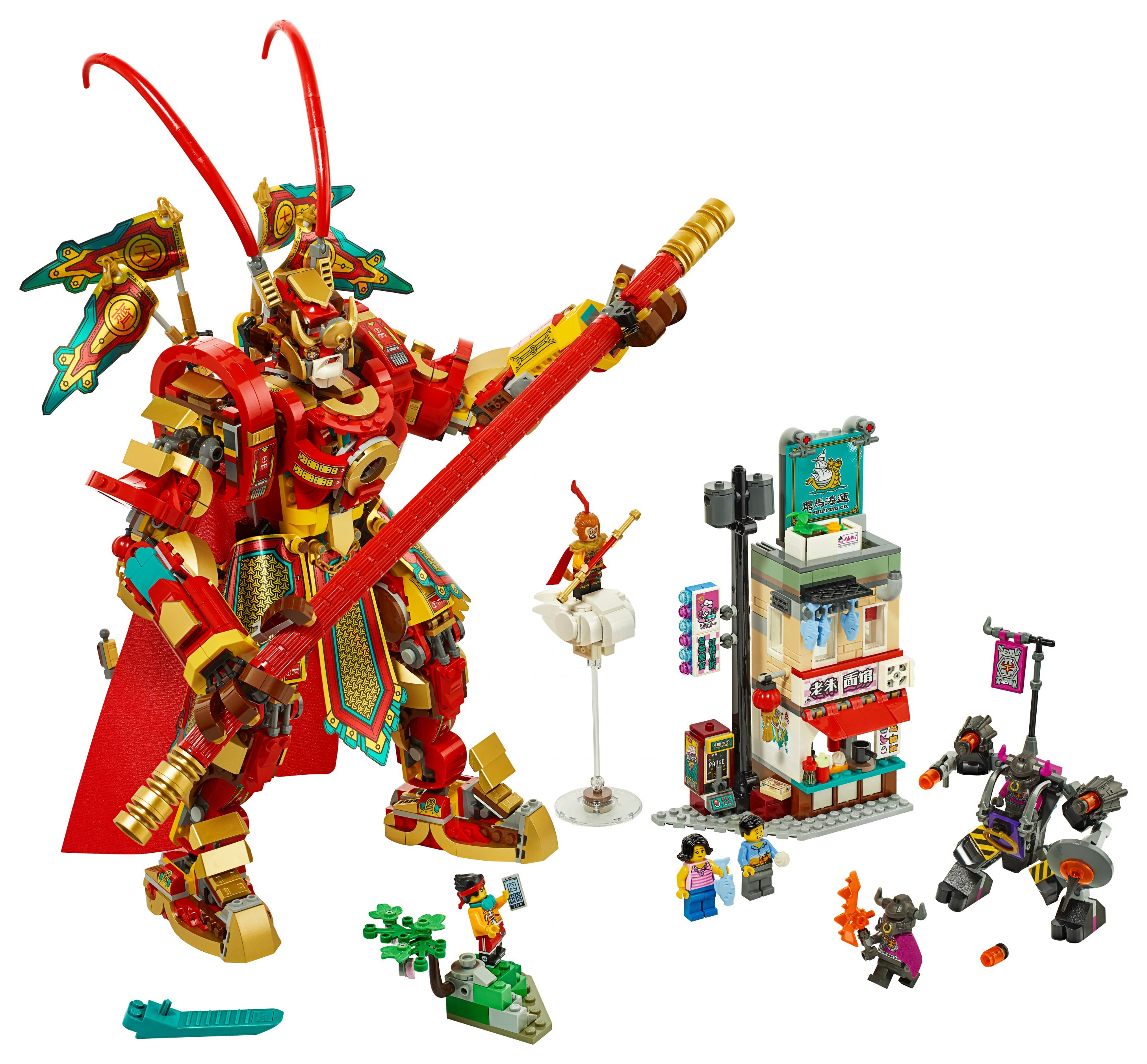 LEGO Monkie Kid 80012 Monkey King Mech