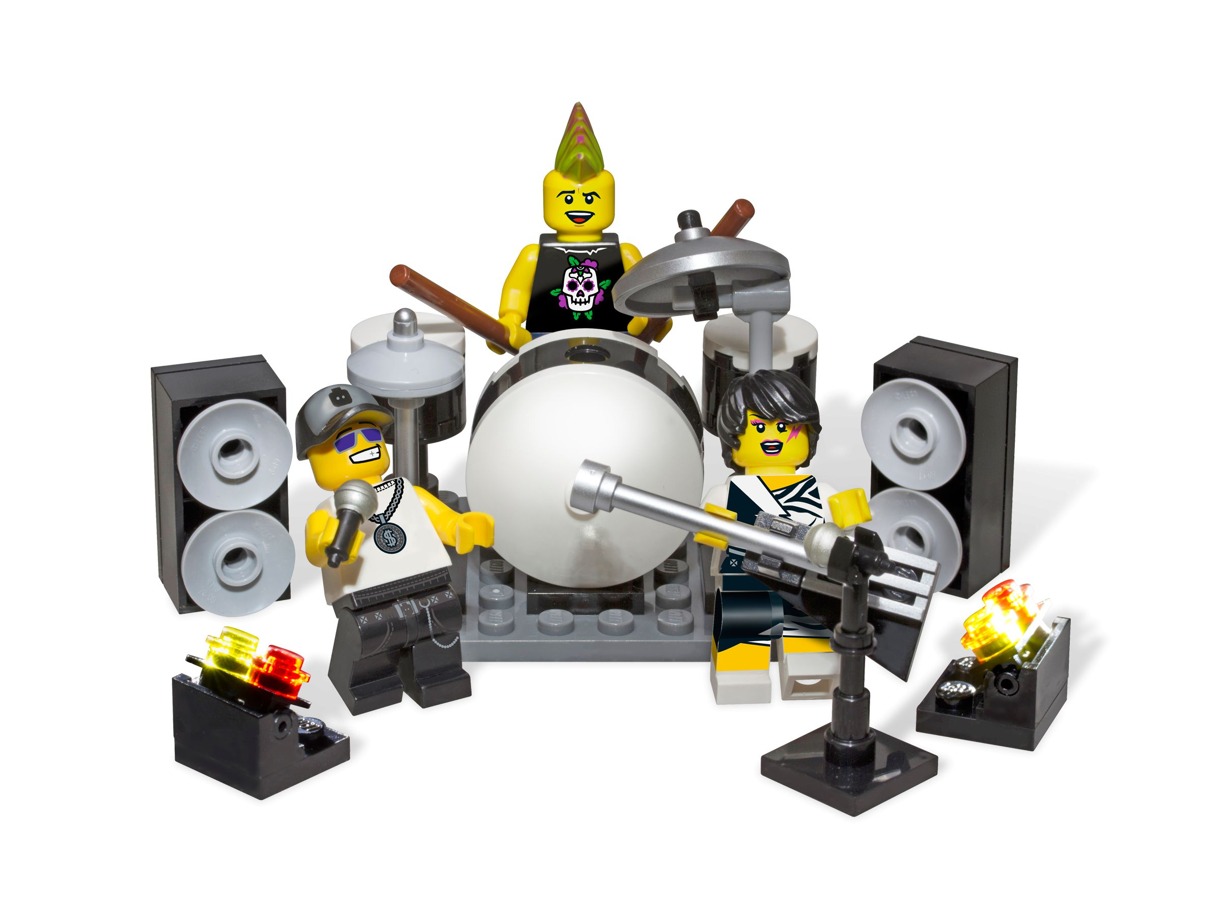 LEGO Collectable Minifigures 850486 Rock Band Minifigure Accessory Set LEGO_850486.jpg