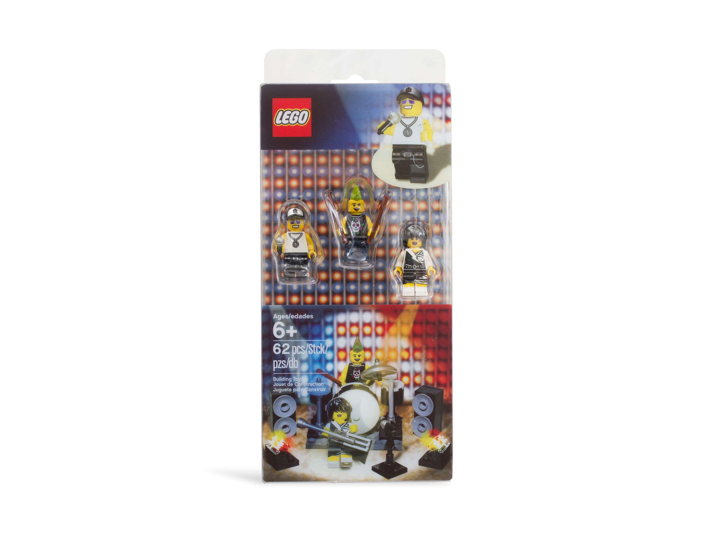 LEGO Collectable Minifigures 850486 Rock Band Minifigure Accessory Set LEGO_850486_alt1.jpg