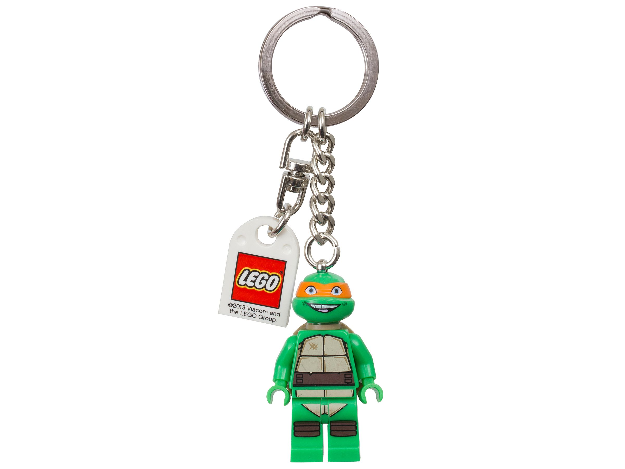 LEGO Gear 850653 LEGO® Teenage Mutant Ninja Turtles™ Michelangelo Schlüsselanhänger LEGO_850653.jpg