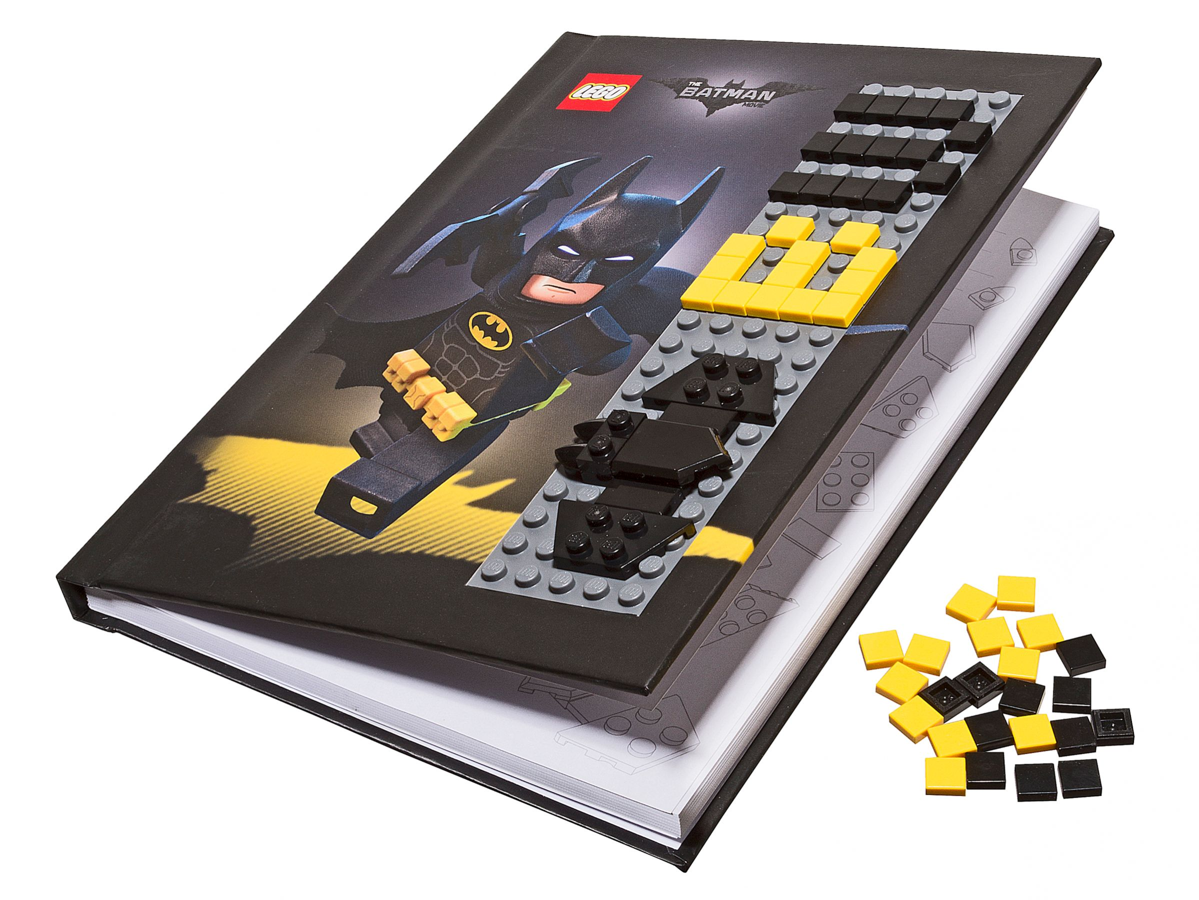 "LEGO® Gear 853649 THE LEGO® BATMAN MOVIE -"" Batman™ Notizbuch mit Noppen"