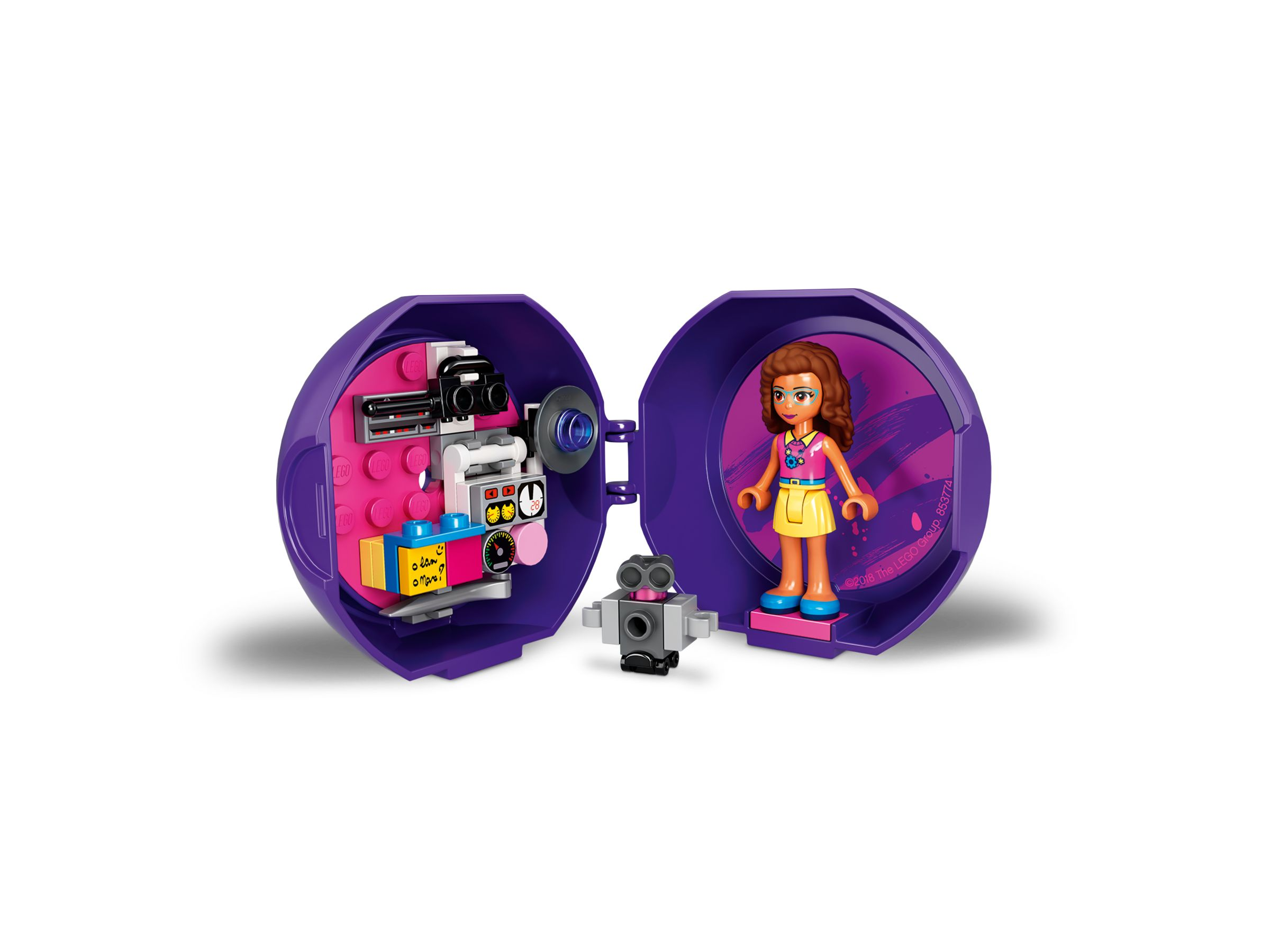 LEGO Friends 853774 Olivias Satelliten-Pod