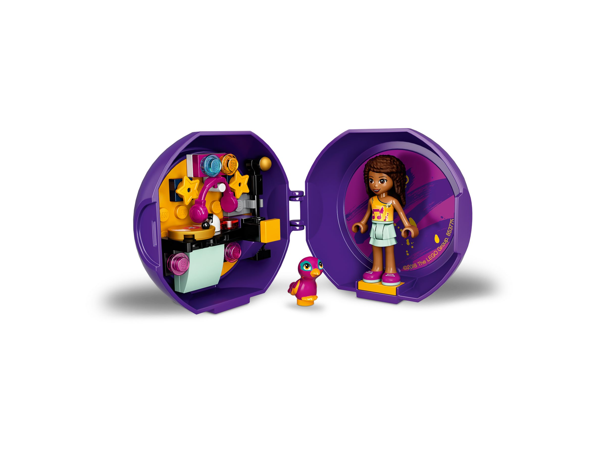 LEGO Friends 853775 Andreas DJ-Pod