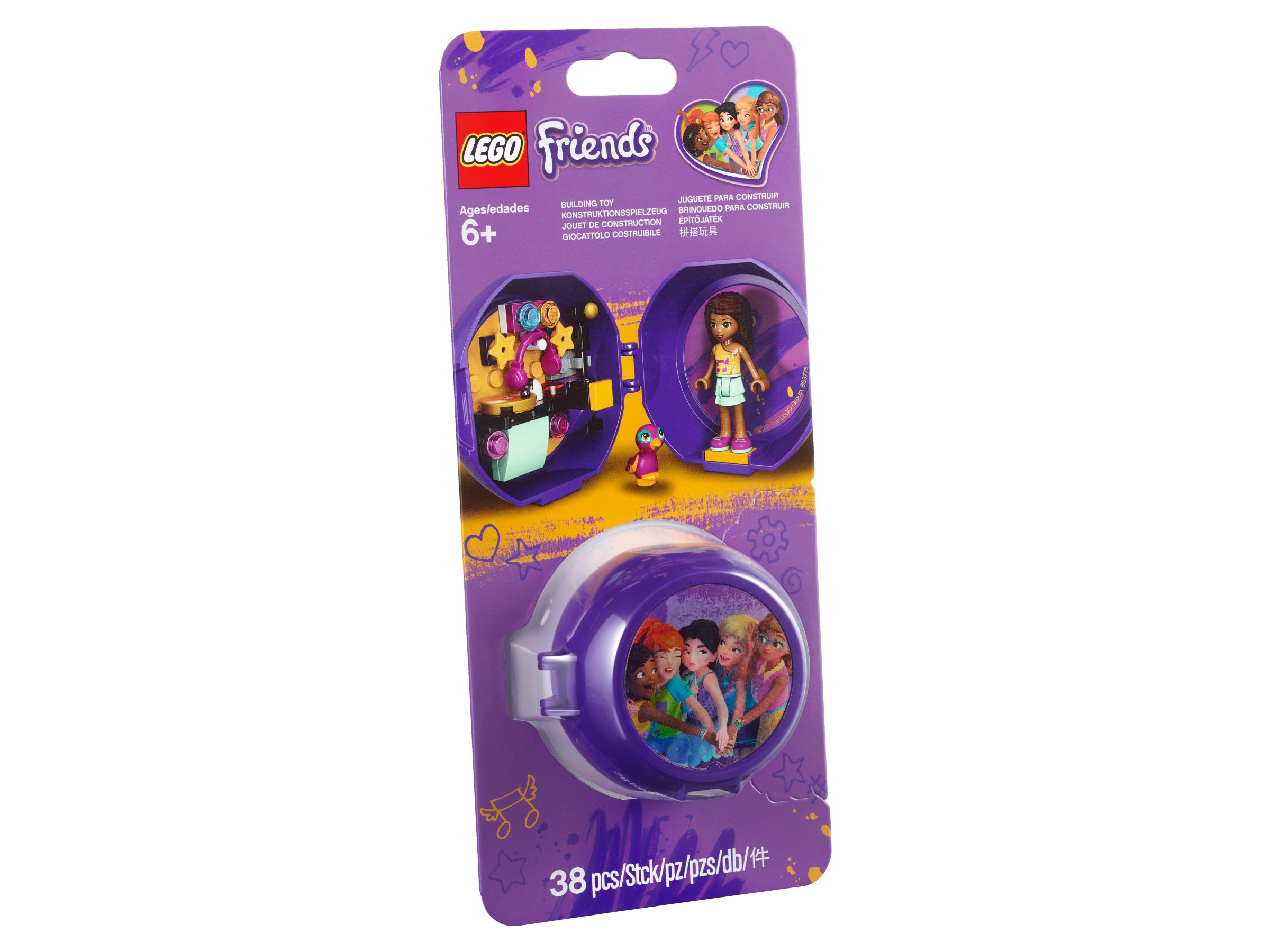 LEGO® Friends 853775 Andreas DJ-Pod