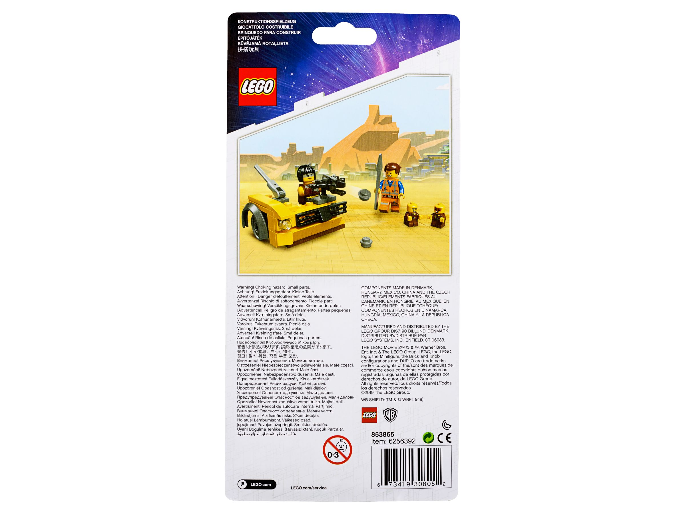 LEGO The Lego Movie 2 853865 Zubehörset - Kanalbabies LEGO_853865_alt2.jpg