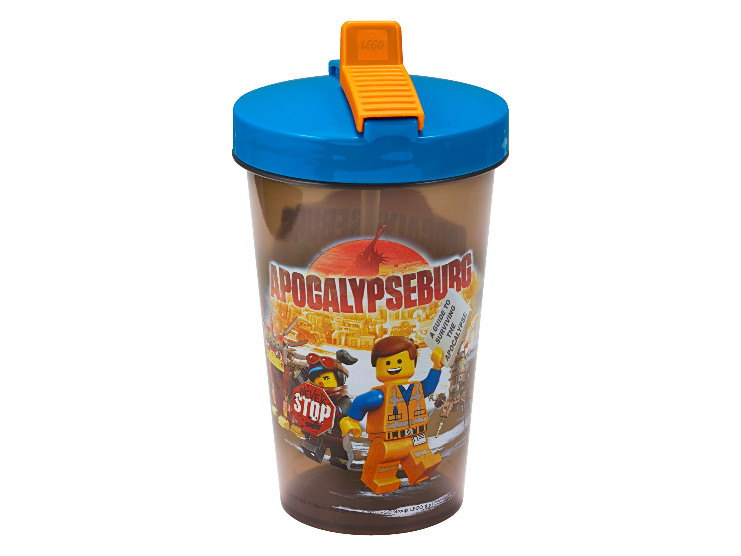 LEGO Gear 853876 THE LEGO® MOVIE 2™ Becher mit Strohhalm