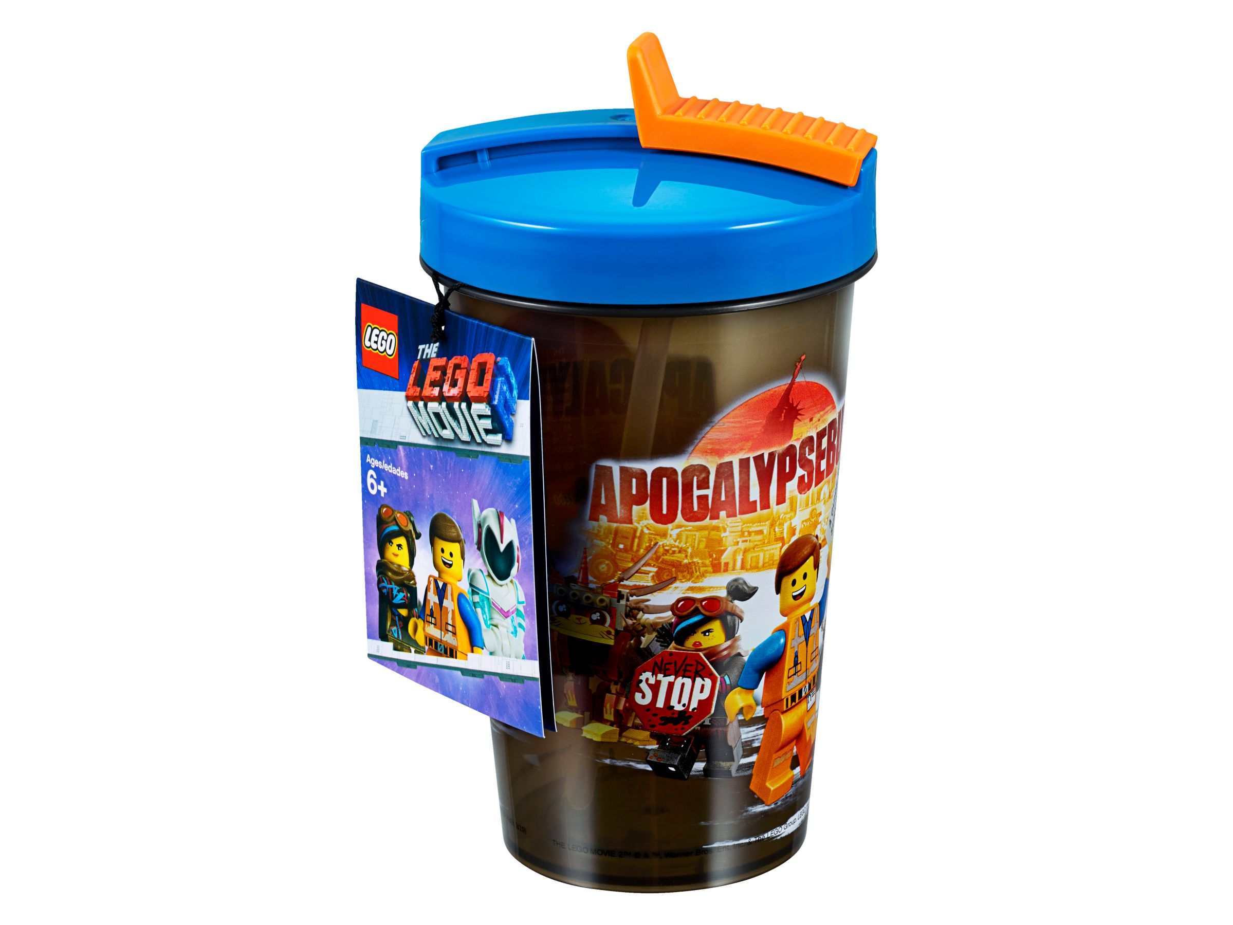 LEGO Gear 853876 THE LEGO® MOVIE 2™ Becher mit Strohhalm LEGO_853876_alt1.jpg