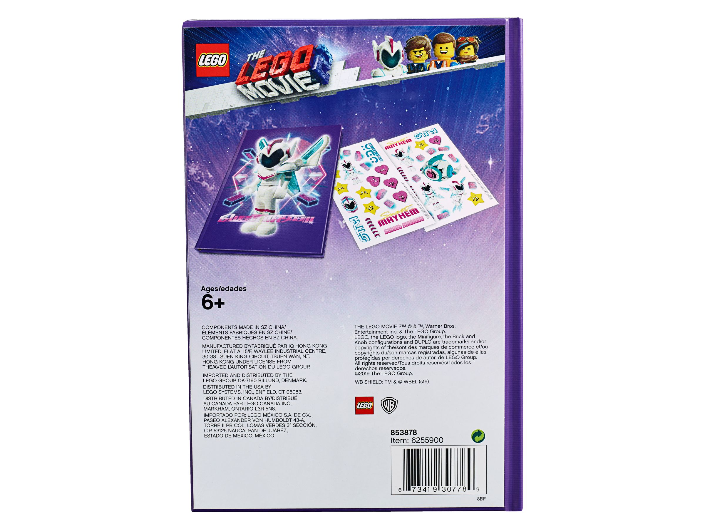 LEGO Gear 853878 THE LEGO® MOVIE 2™ Notizbuch LEGO_853878_alt2.jpg