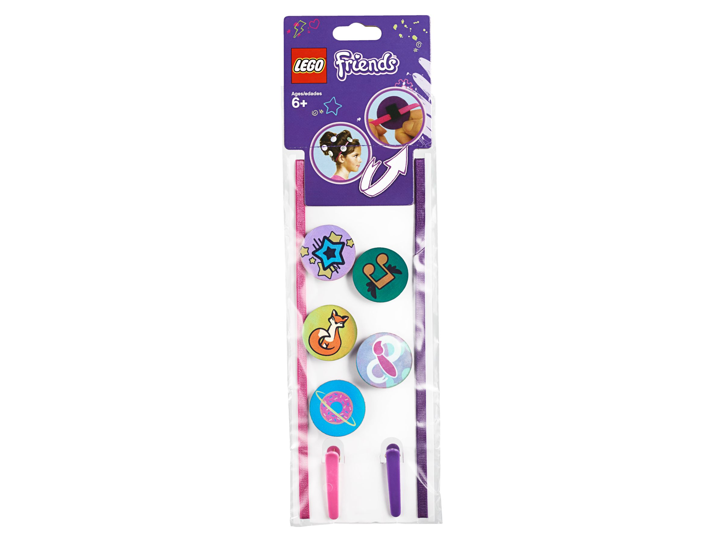LEGO Gear 853892 Friends Hair Accessory Set LEGO_853892_alt3.jpg
