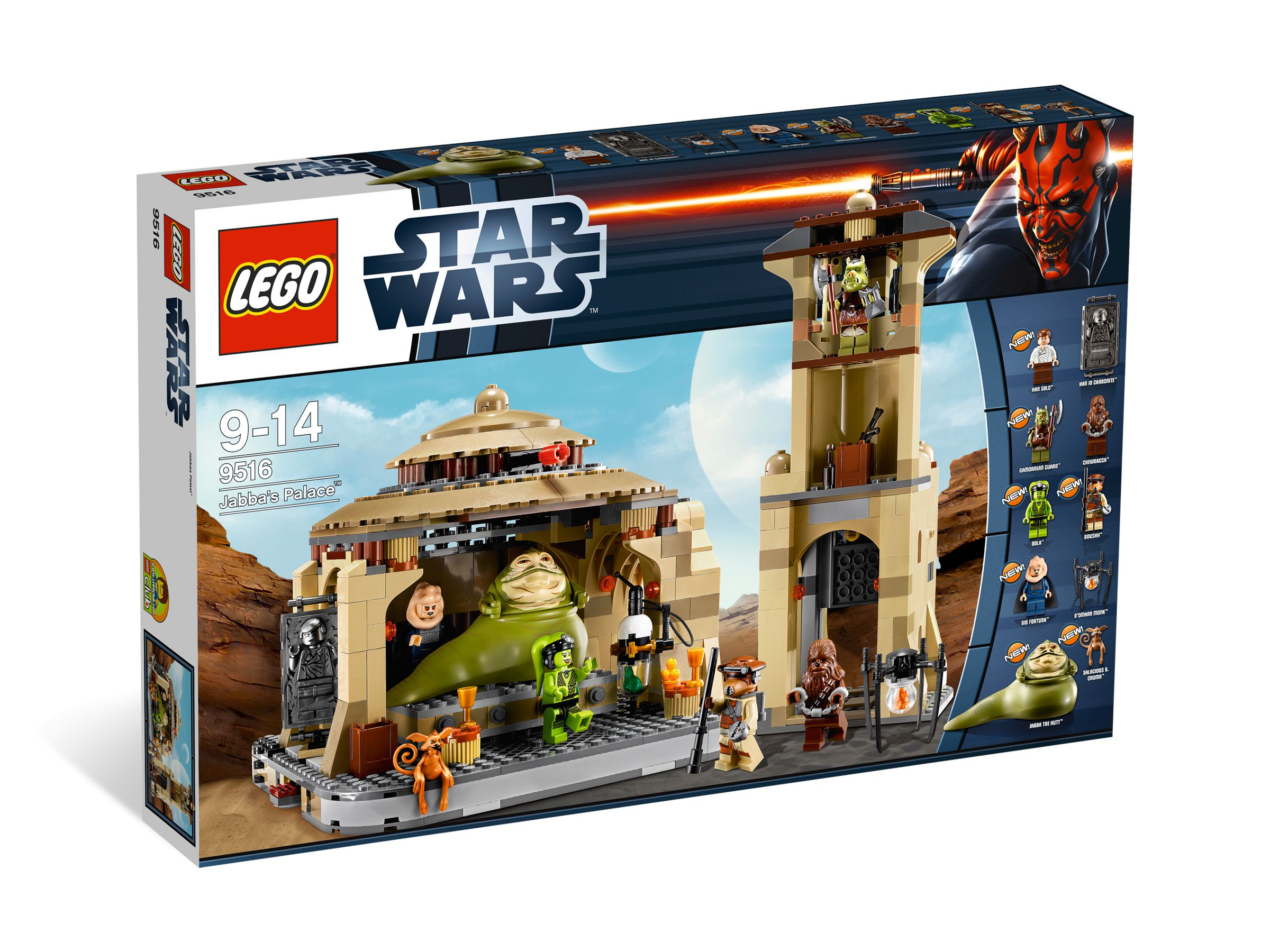 lego 9516 jabba 39 s palace star wars 2012 brickmerge. Black Bedroom Furniture Sets. Home Design Ideas