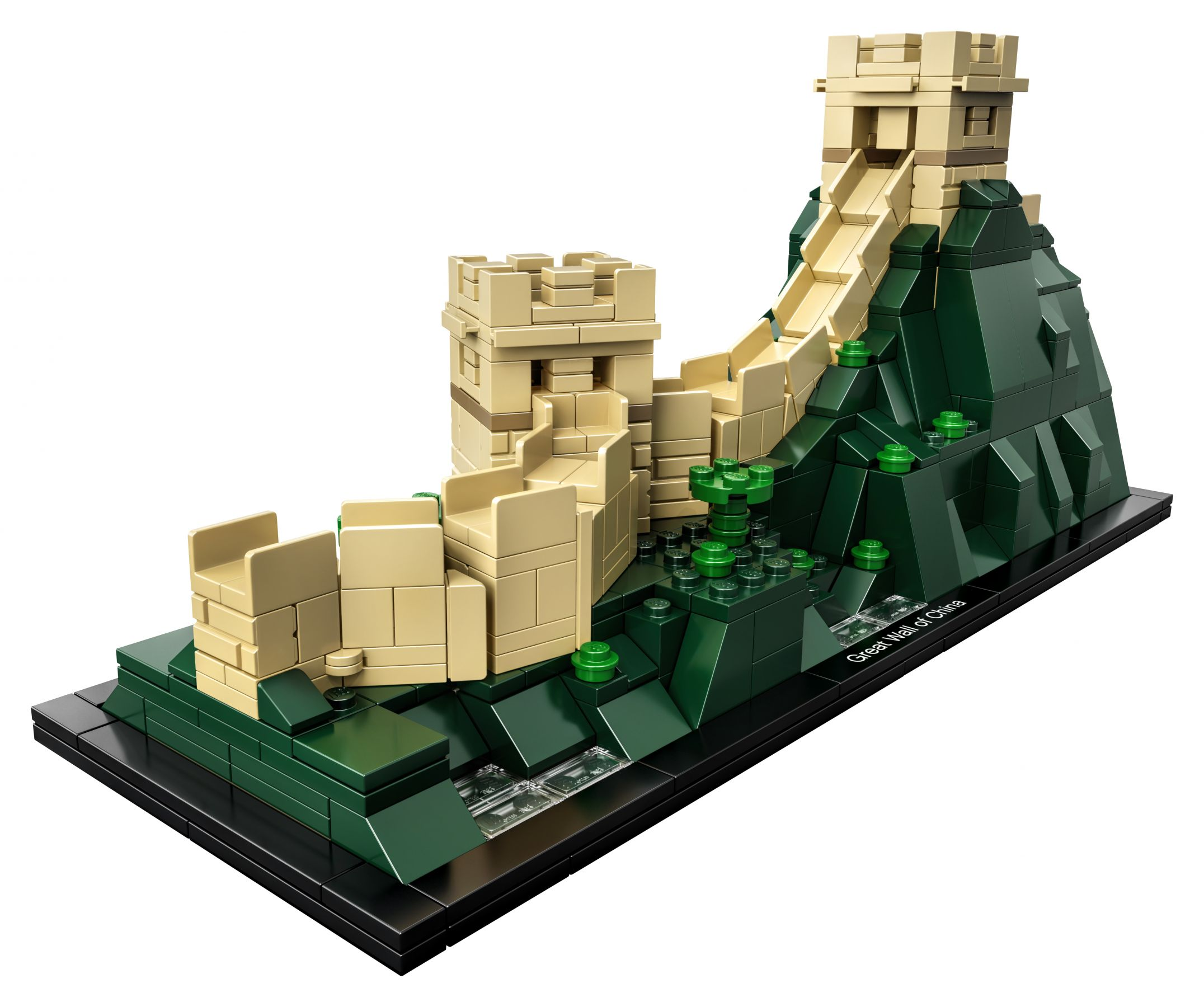 How To Build A Lego Great Wall Of China