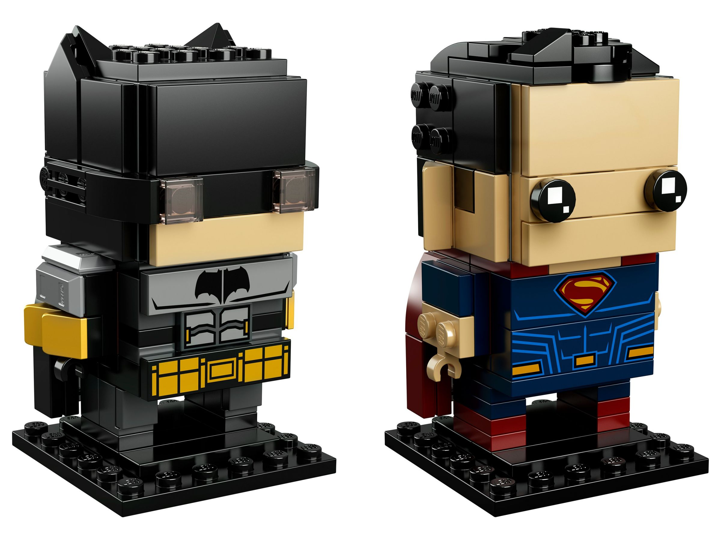 LEGO BrickHeadz 41610 Tactical Batman™ & Superman™