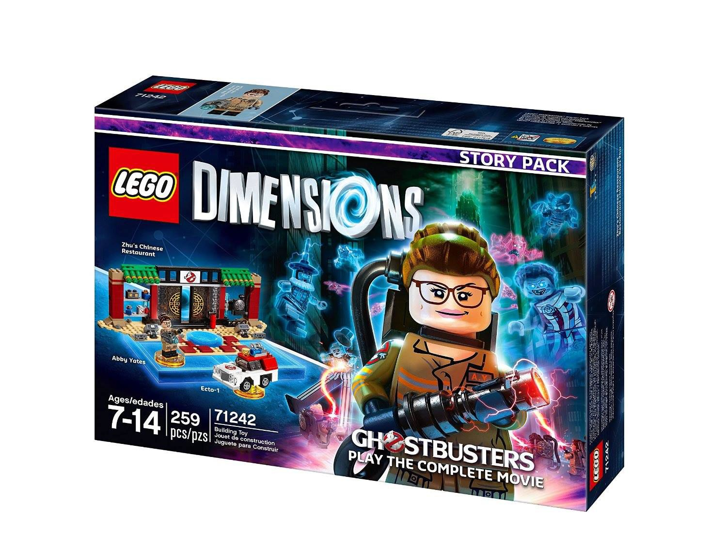 LEGO Dimensions 71242 Story Pack New Ghostbusters LEGO_DIMENSIONS_71242_Ghostbusters-Story_Pack-01.jpg