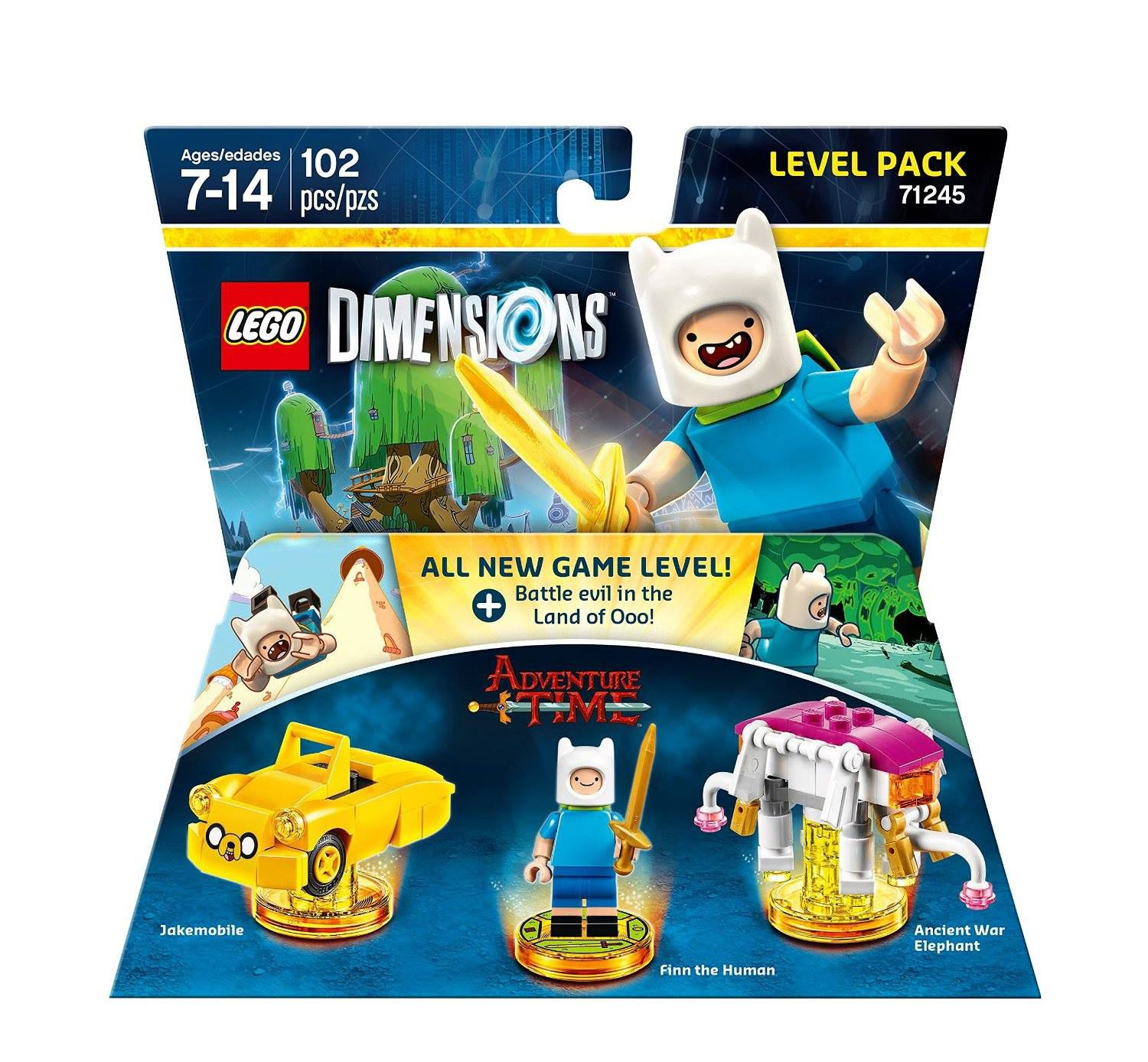 LEGO Dimensions 71245 Level Pack Adventure Time LEGO_DIMENSIONS_71245_Adventure-Time-01.jpg