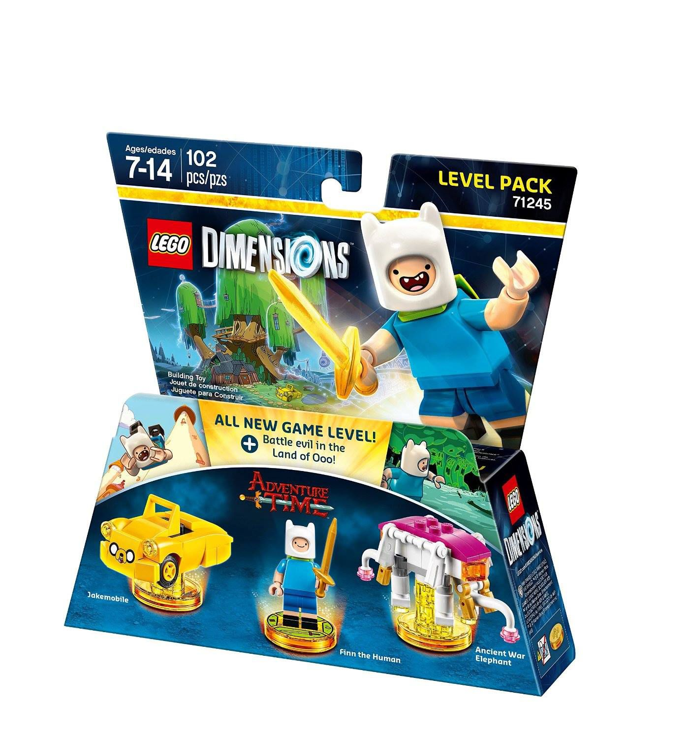 LEGO Dimensions 71245 Level Pack Adventure Time LEGO_DIMENSIONS_71245_Adventure-Time-03.jpg