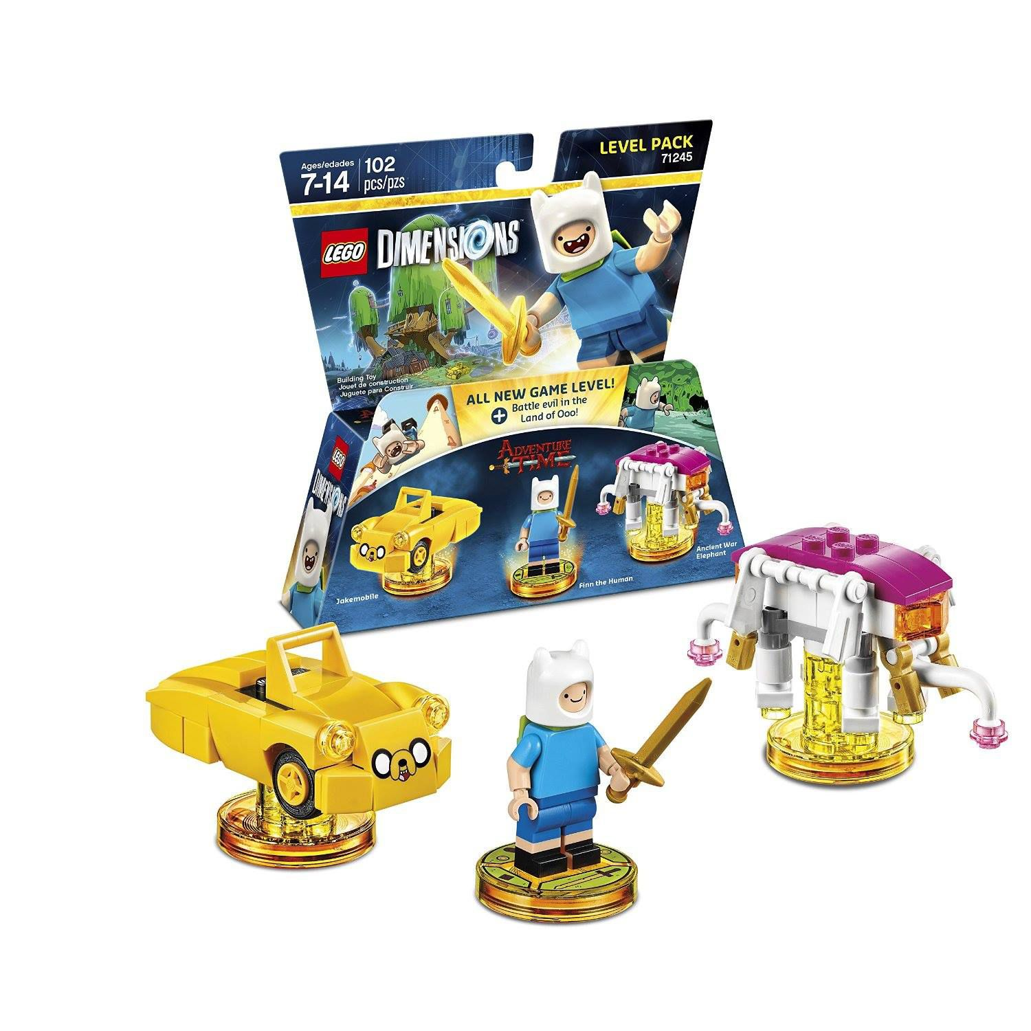 LEGO Dimensions 71245 Level Pack Adventure Time LEGO_DIMENSIONS_71245_Adventure-Time-04.jpg