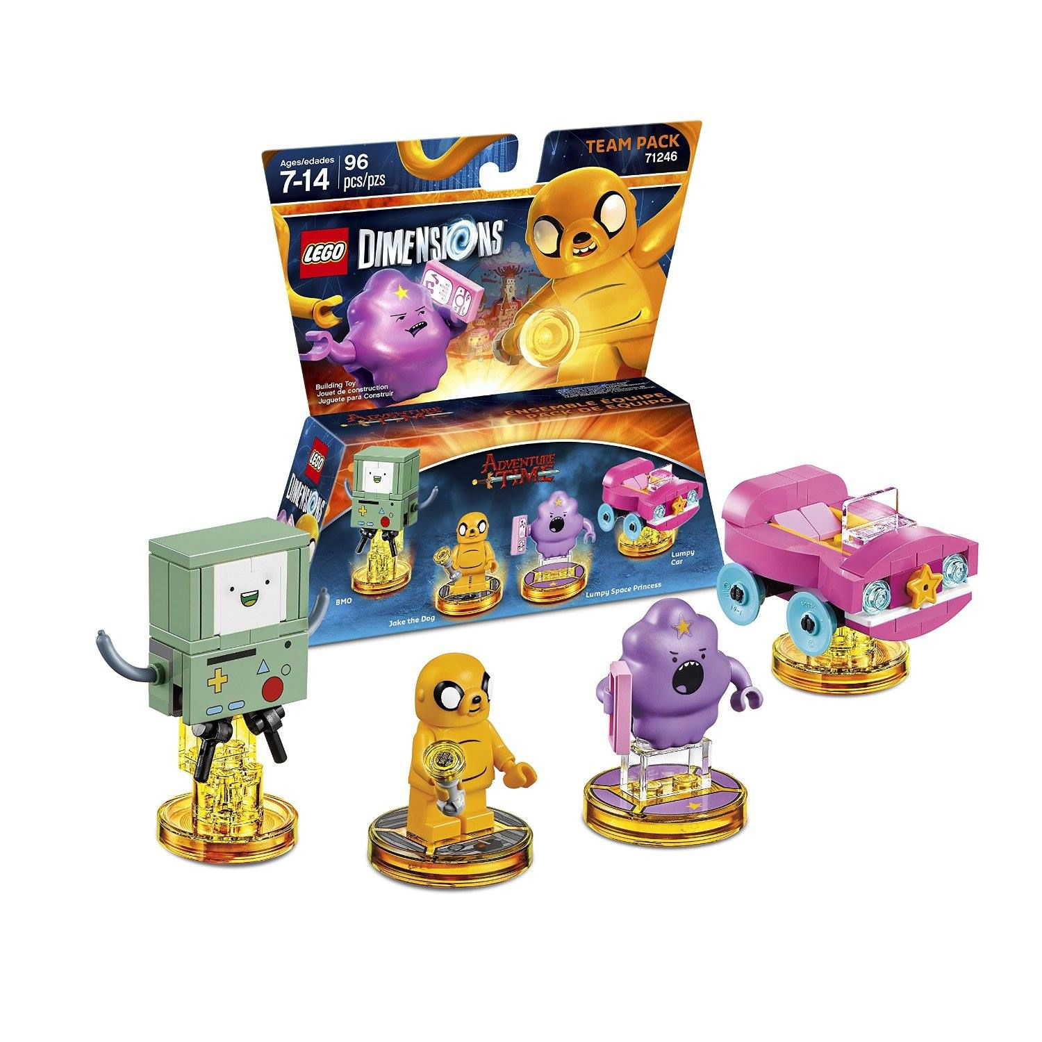 LEGO Dimensions 71246 Team Pack Adventure Time LEGO_DIMENSIONS_71246_Adventure-Time-01.jpg