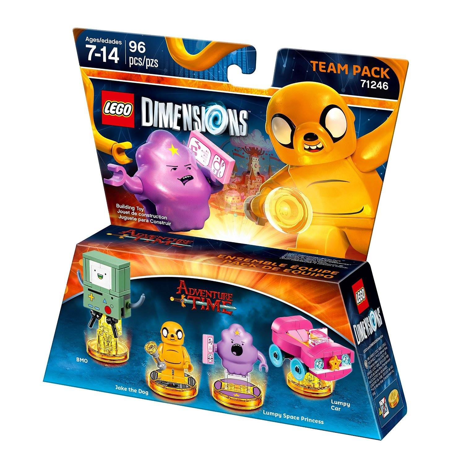 LEGO Dimensions 71246 Team Pack Adventure Time LEGO_DIMENSIONS_71246_Adventure-Time-02.jpg