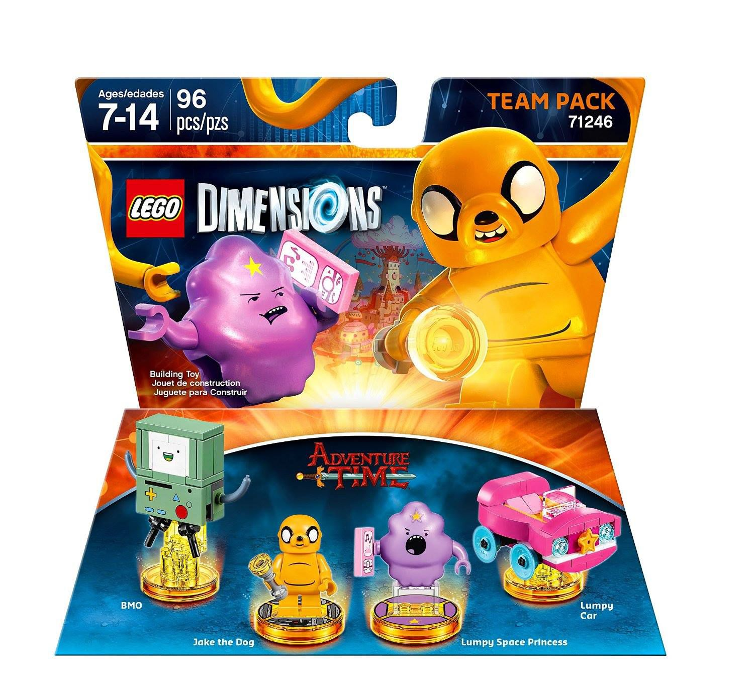 LEGO Dimensions 71246 Team Pack Adventure Time LEGO_DIMENSIONS_71246_Adventure-Time-03.jpg