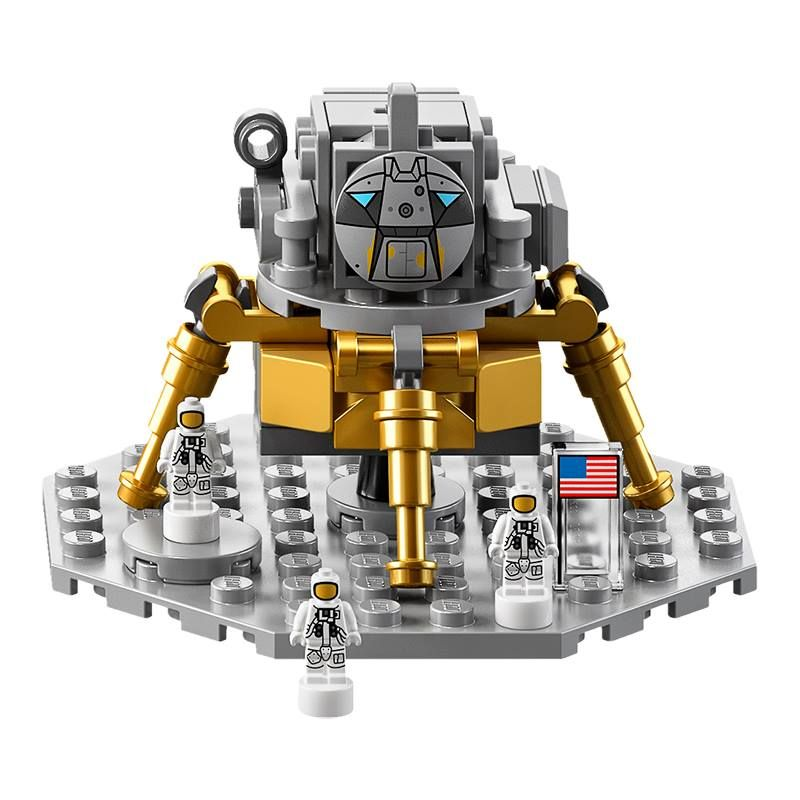 LEGO Ideas 21309 LEGO® NASA Apollo Saturn V LEGO_Ideas_21309_NASA_Apollo_Saturn_V_lander_1.jpg