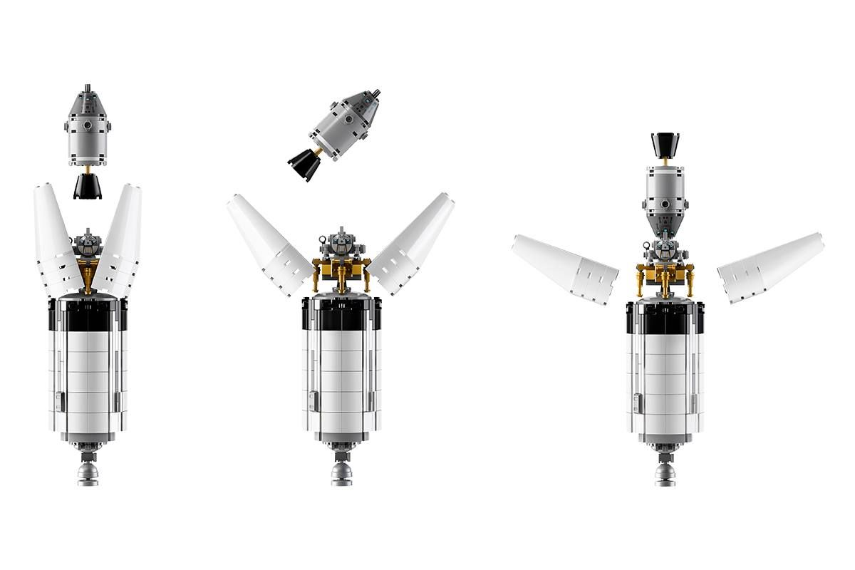 LEGO Ideas 21309 LEGO® NASA Apollo Saturn V LEGO_Ideas_21309_NASA_Apollo_Saturn_V_steps_2.jpg