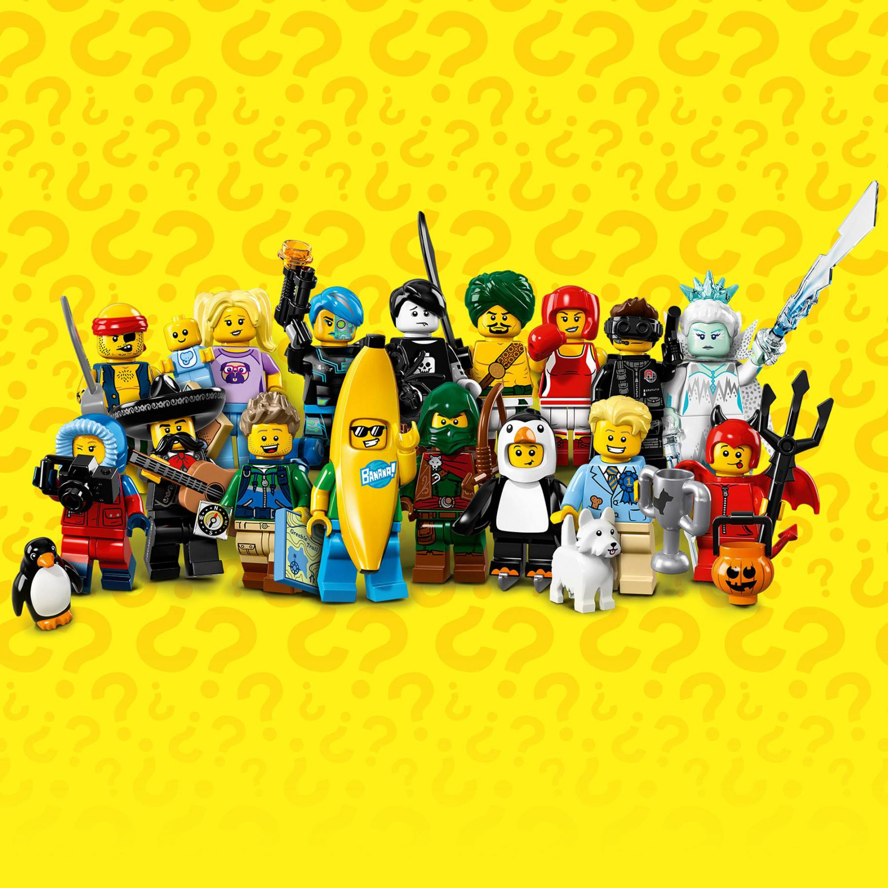 LEGO Collectable Minifigures 71013 LEGO® Minifiguren Serie 16 LEGO_Minifigures_Series_16.jpg