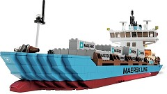 LEGO Advanced Models 10155 Maersk Line Container Ship