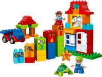 LEGO Duplo 10580 LEGO® DUPLO® Deluxe Steinebox - © 2014 LEGO Group