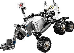 LEGO Ideas 21104 NASA Mars Science Laboratory Curiosity Rover