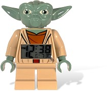 LEGO Gear 2856203 LEGO® Star Wars™ Yoda Minifigure Clock - © 2011 LEGO Group