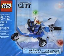 LEGO City 30018 Police Microlight