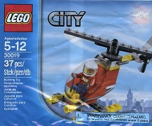 LEGO City 30019 Feuerwehr Helikopter - Beutel - Polybag